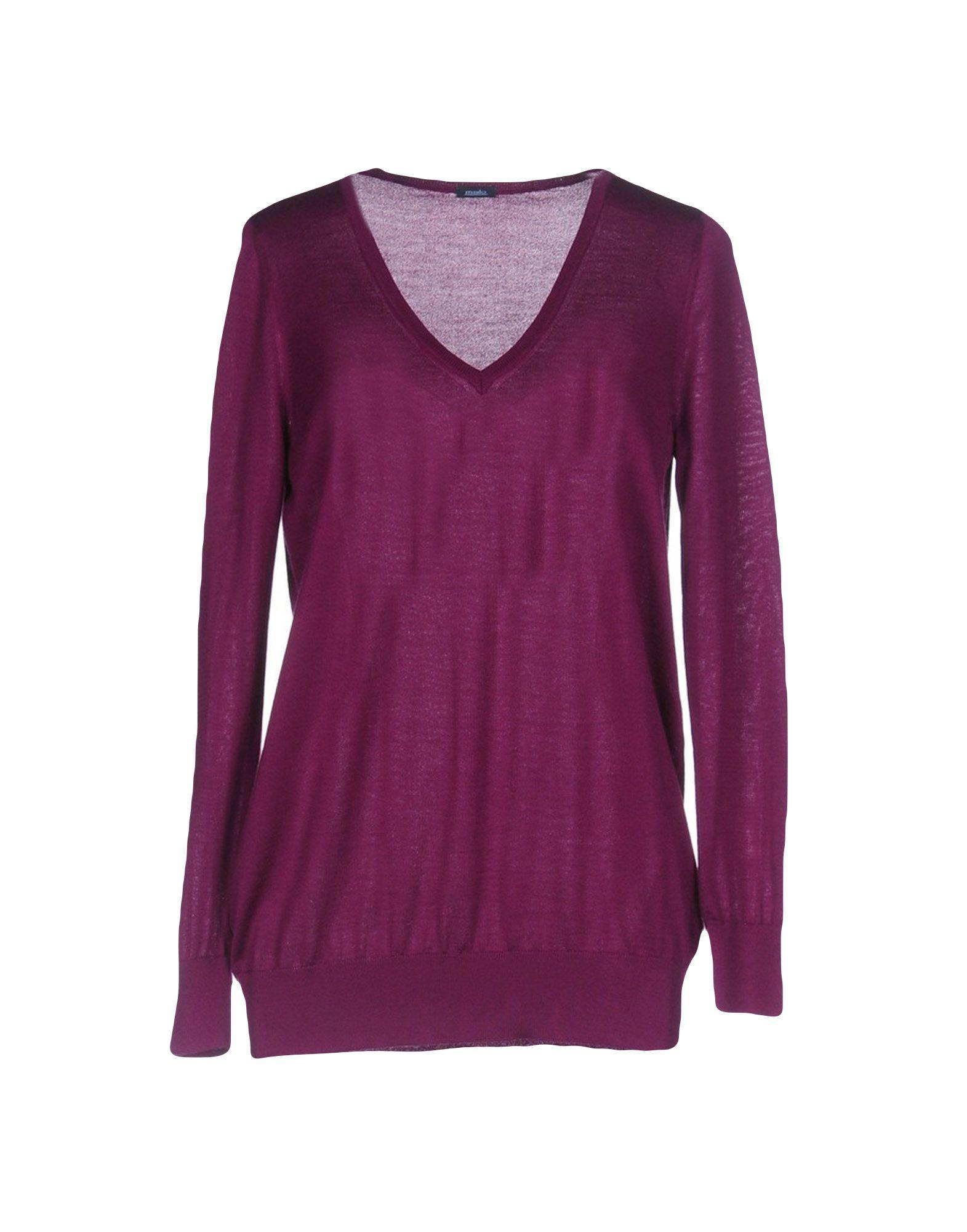 Knitwear Malo Purple Women's Cashmere