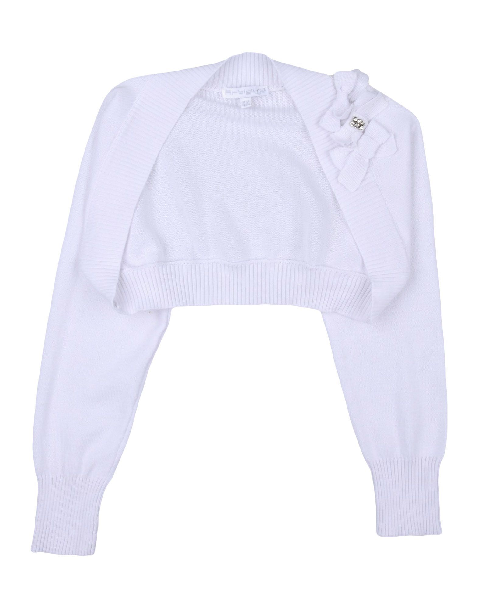 KNITWEAR Girl Artigli Girl White Cotton