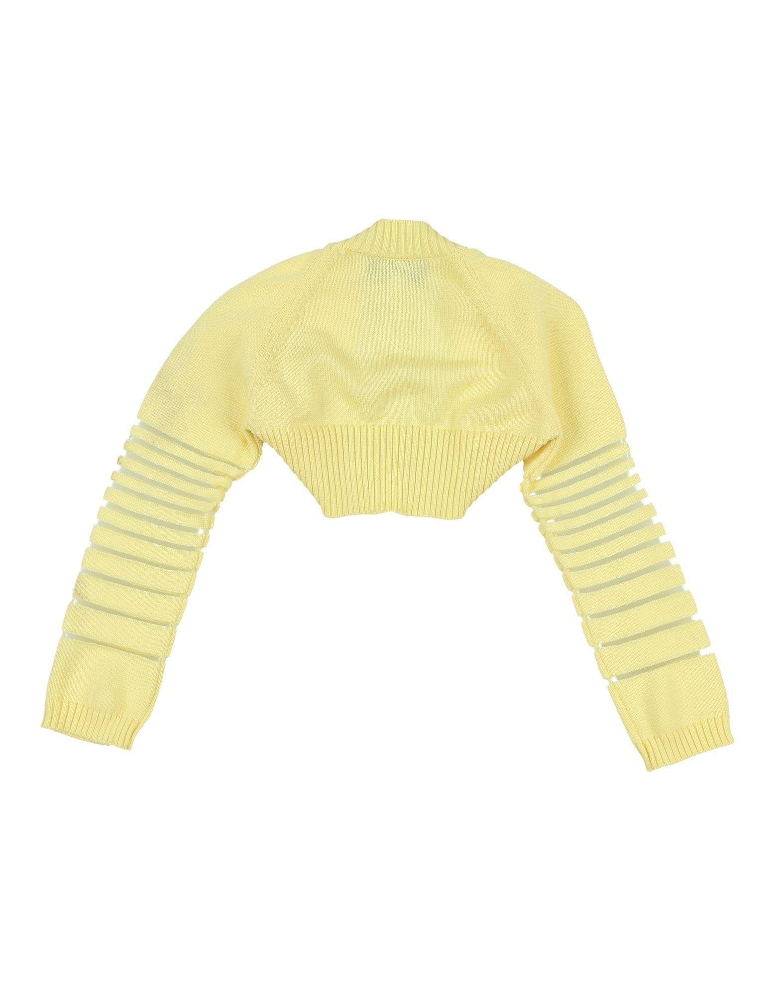 KNITWEAR Simonetta Mini Yellow Girl Cotton