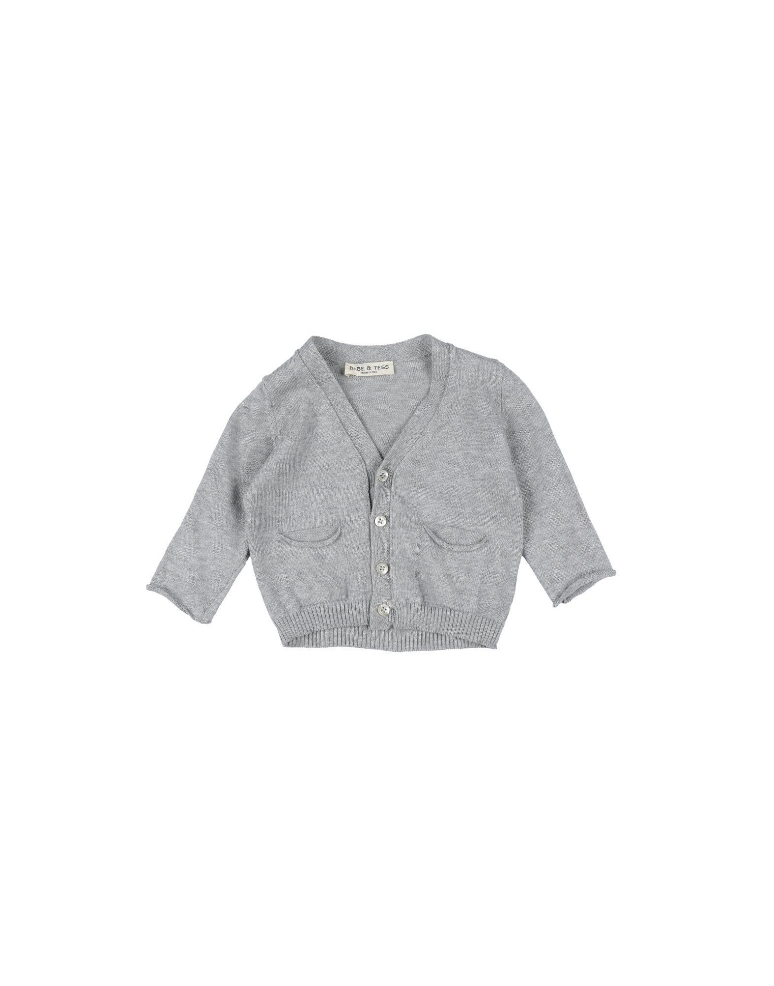 KNITWEAR Babe & Tess Light grey Girl Cotton