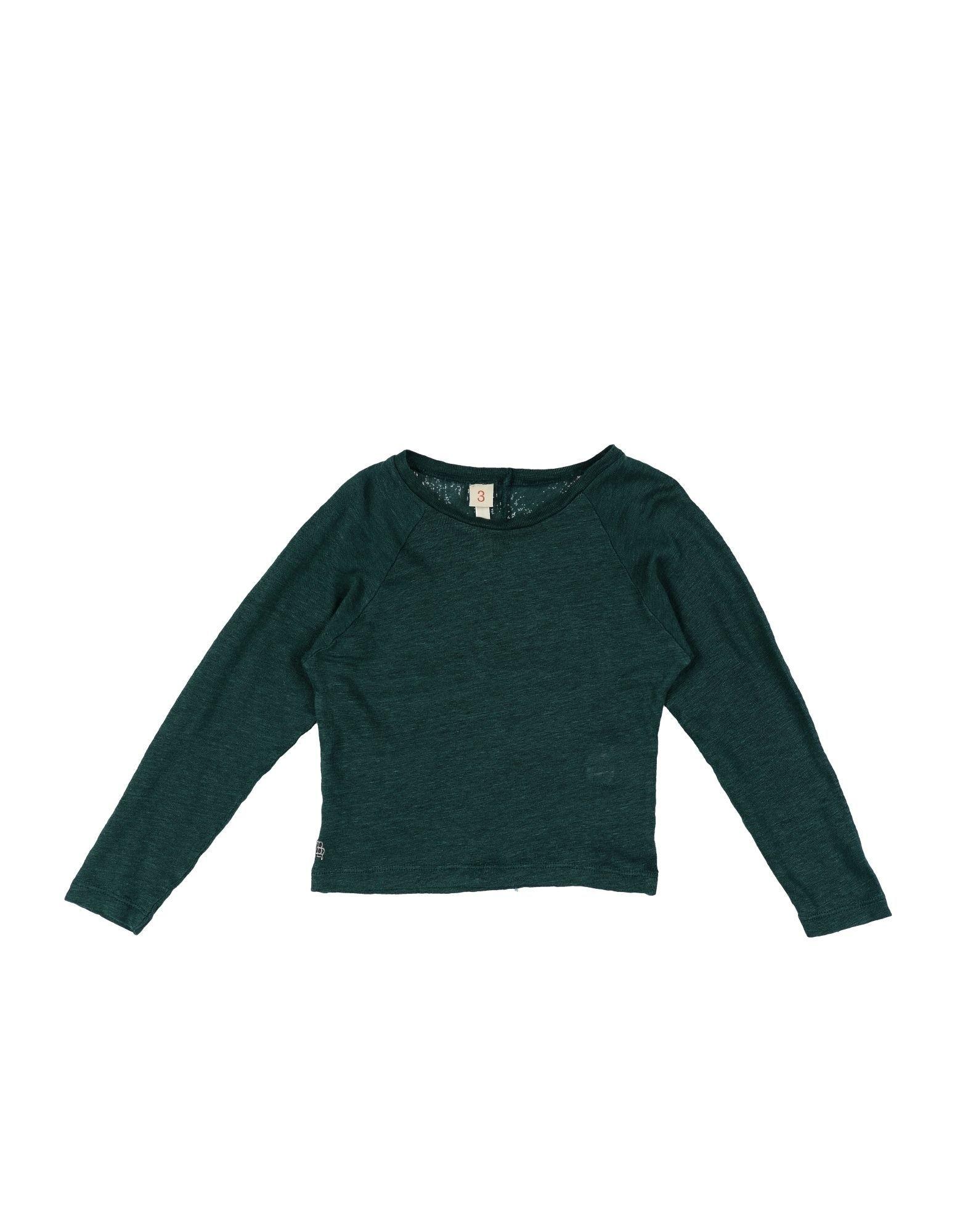 KNITWEAR Bellerose Emerald green Girl Linen