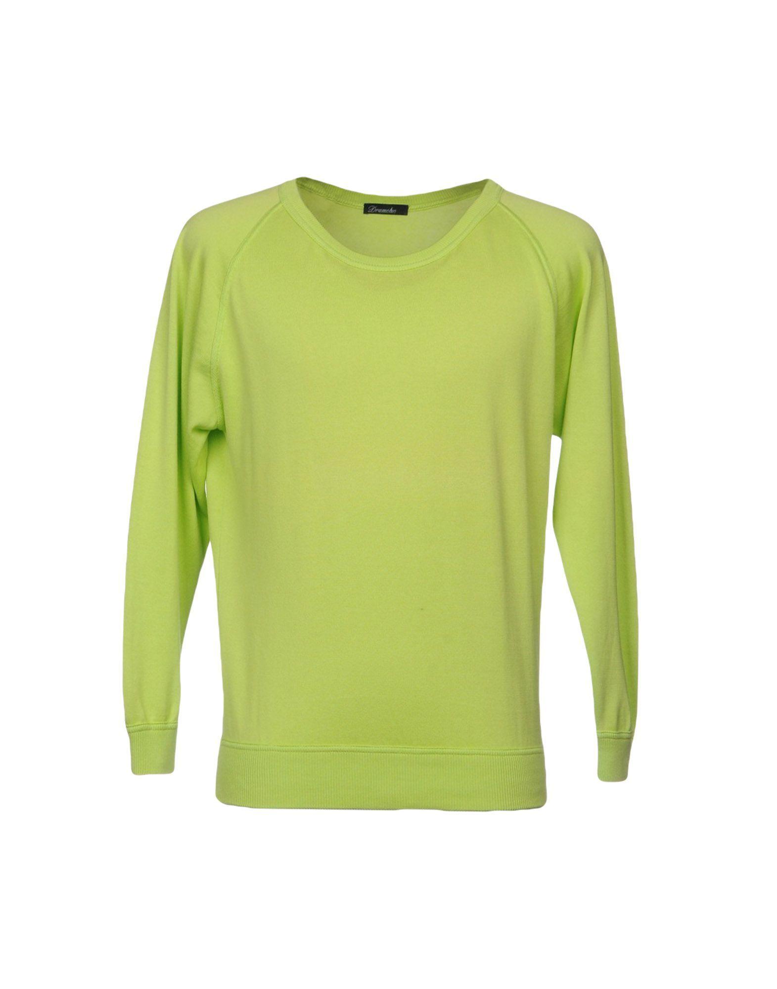 KNITWEAR Drumohr Acid green Man Cotton