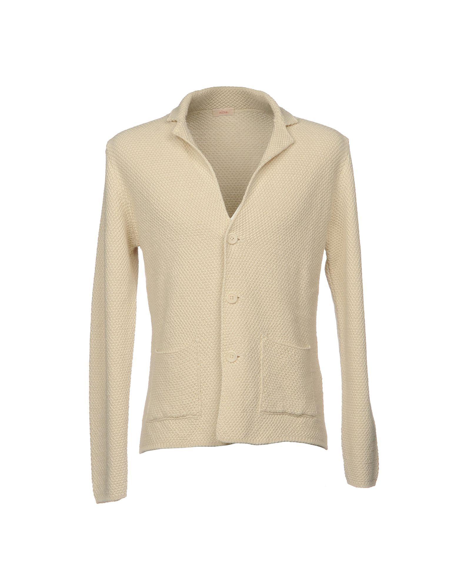 KNITWEAR Altea Ivory Man Cotton