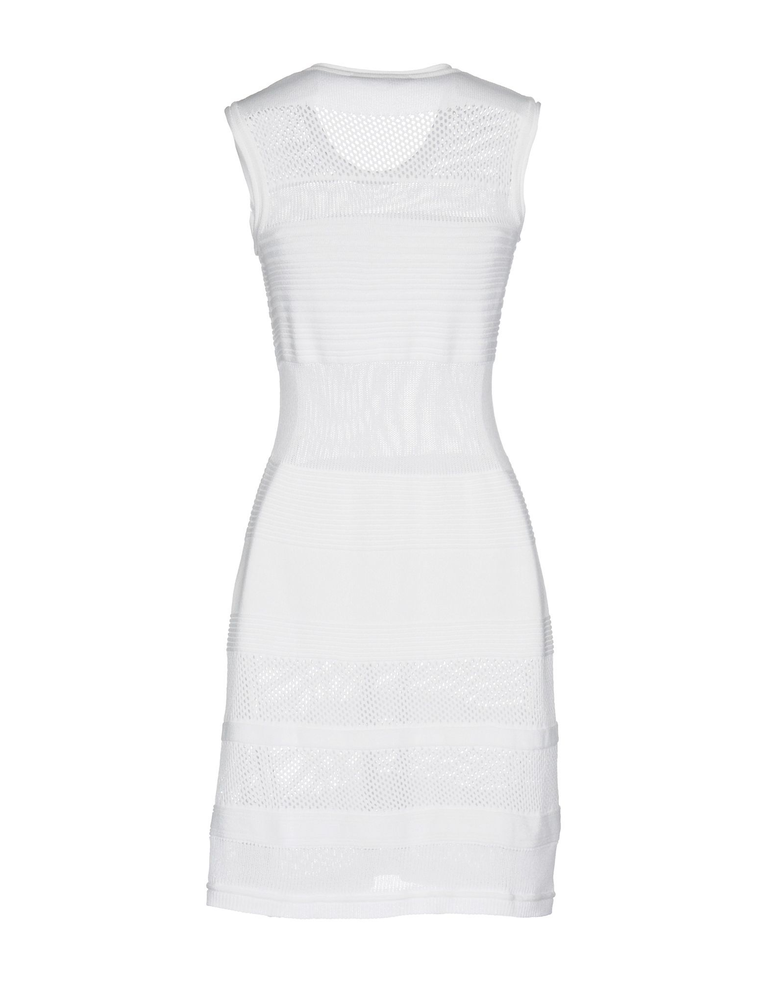 Messagerie White Knit Dress