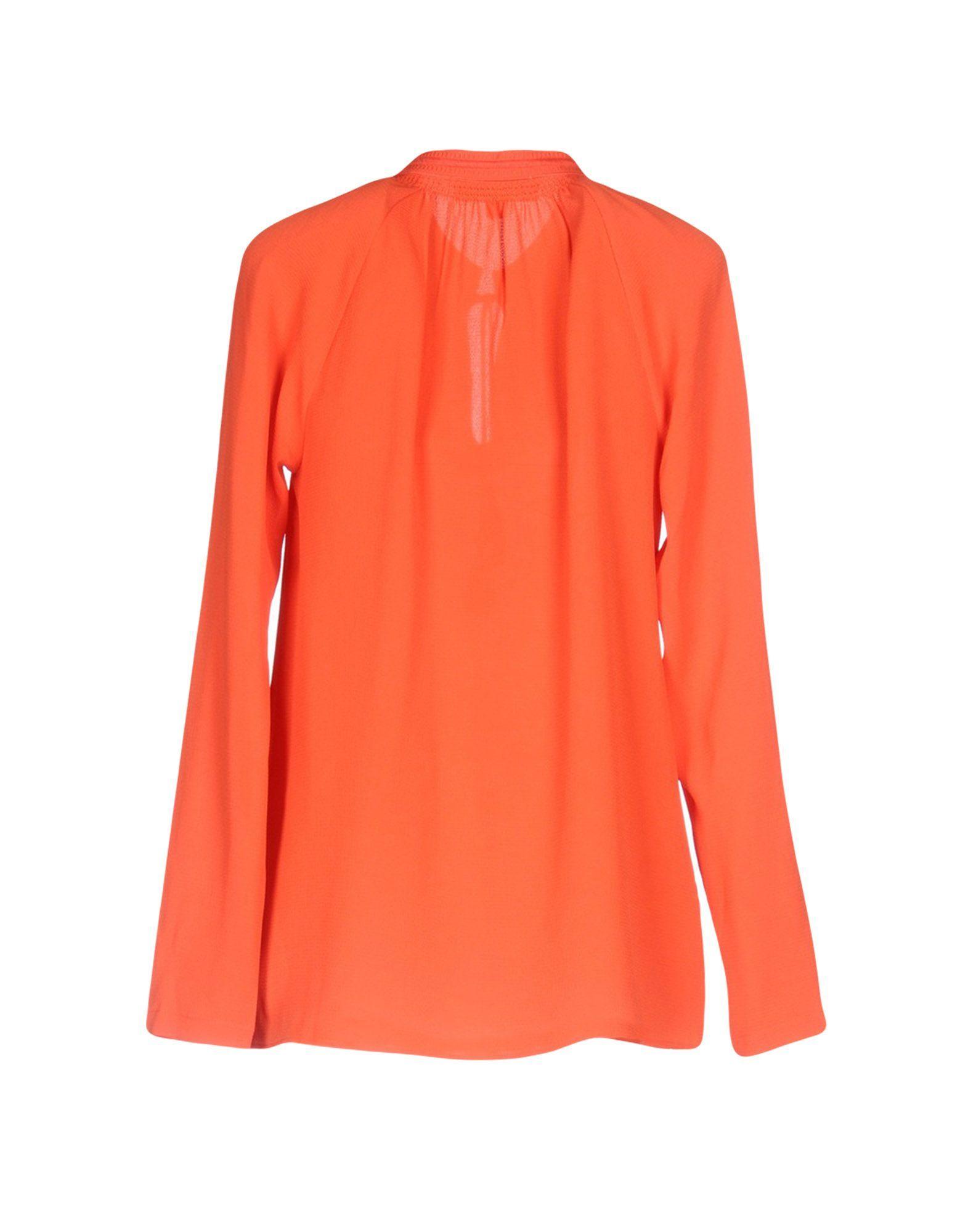 SHIRTS Michael Michael Kors Orange Woman Polyester
