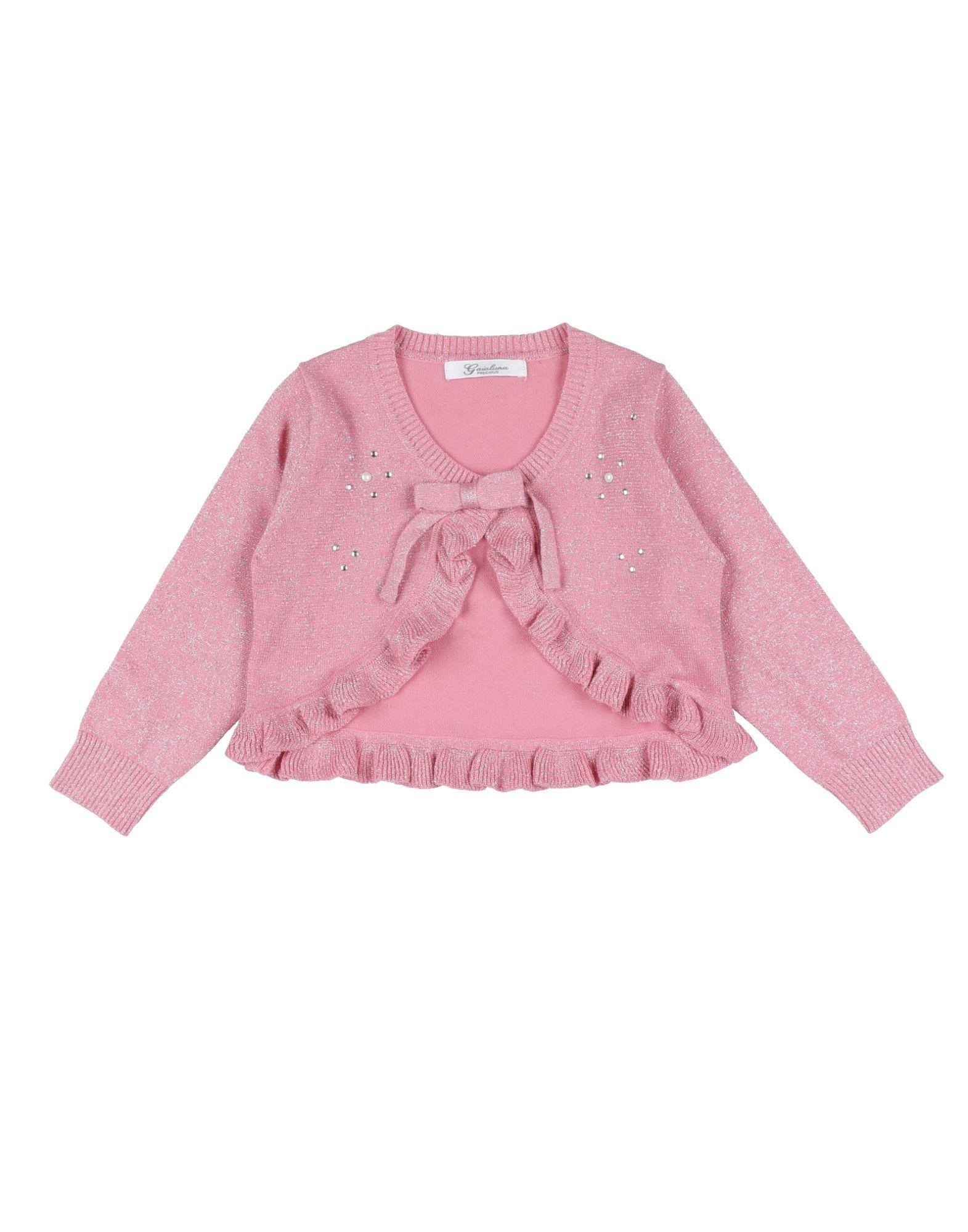 KNITWEAR Gaialuna Pink Girl Cotton
