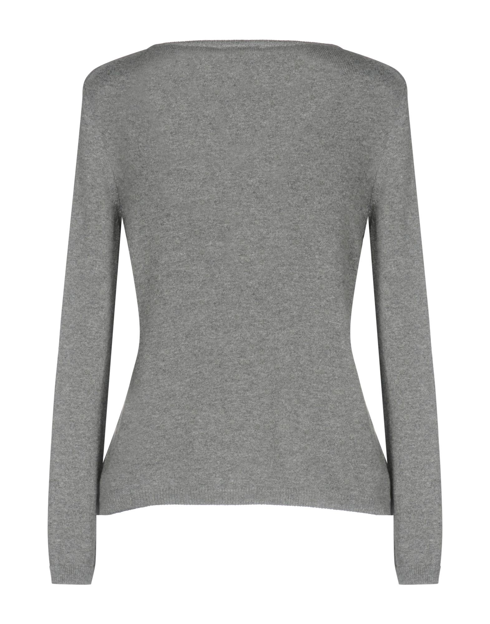 KNITWEAR Henry Cotton'S Grey Woman Merinos Wool