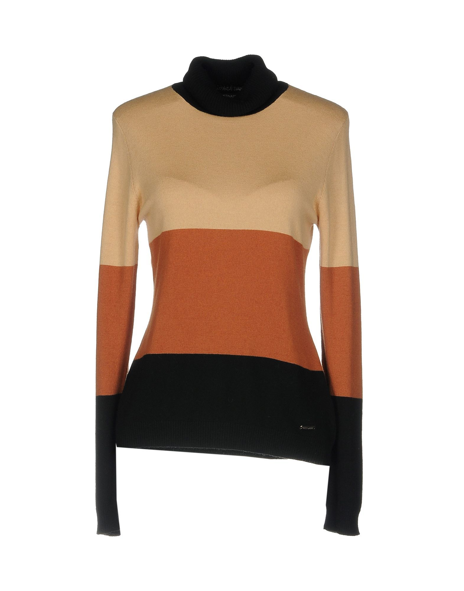 Cristinaeffe Orange Stripe Knit Jumper