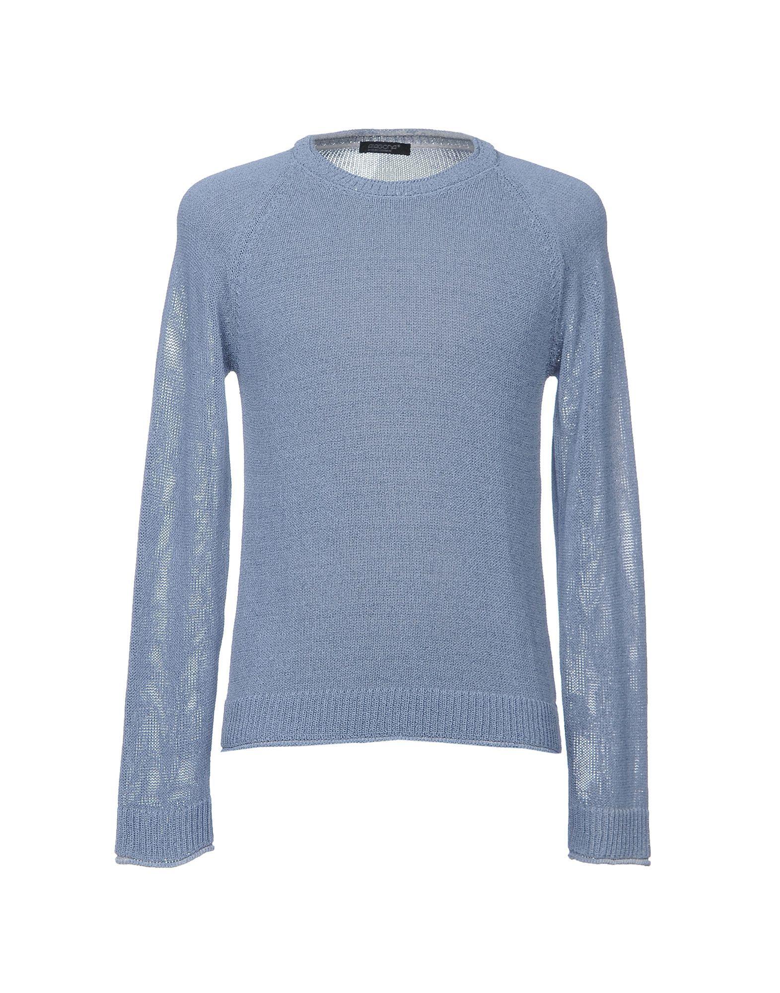 KNITWEAR Aragona Slate blue Man Cotton