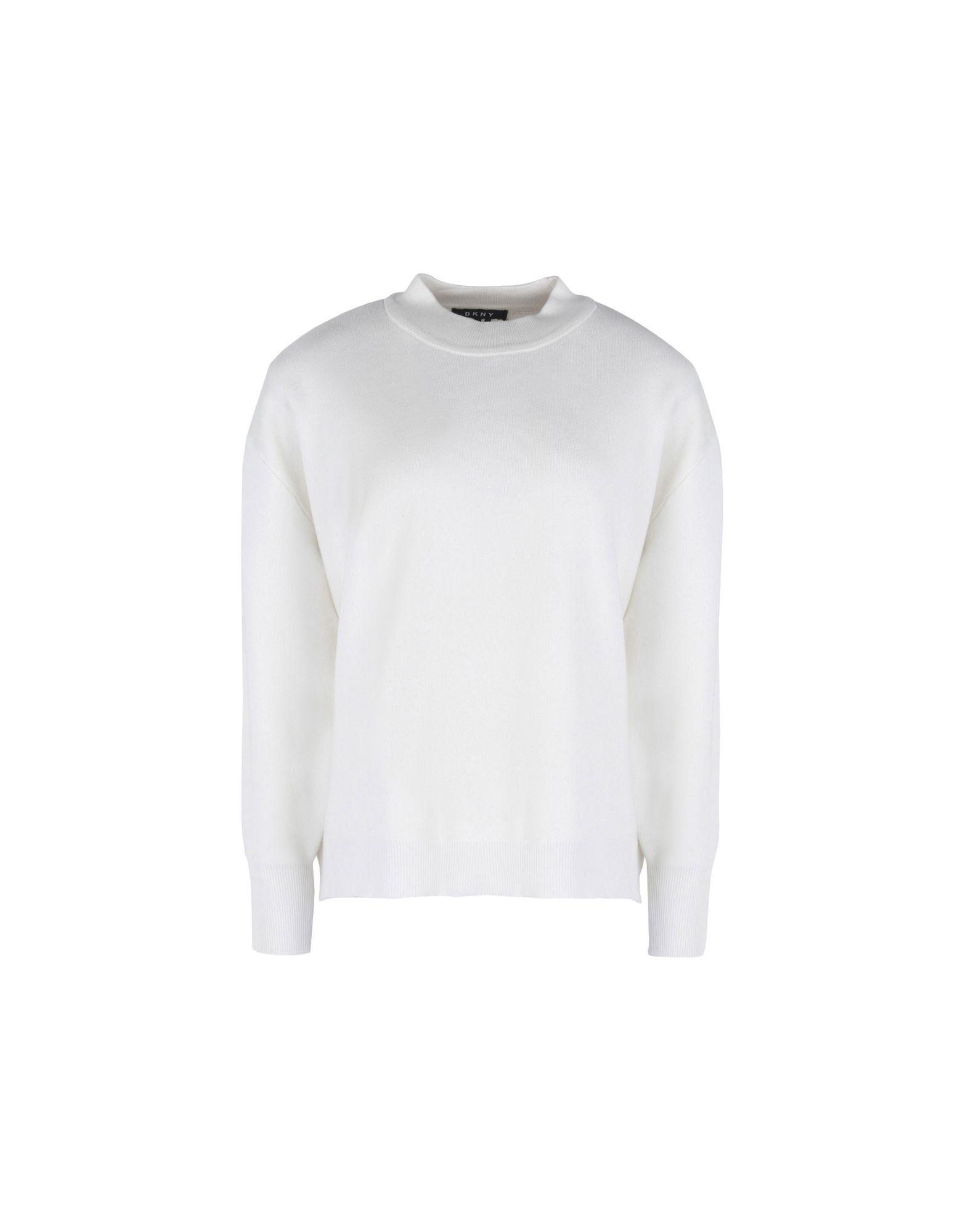 DKNY White Knit Jumper