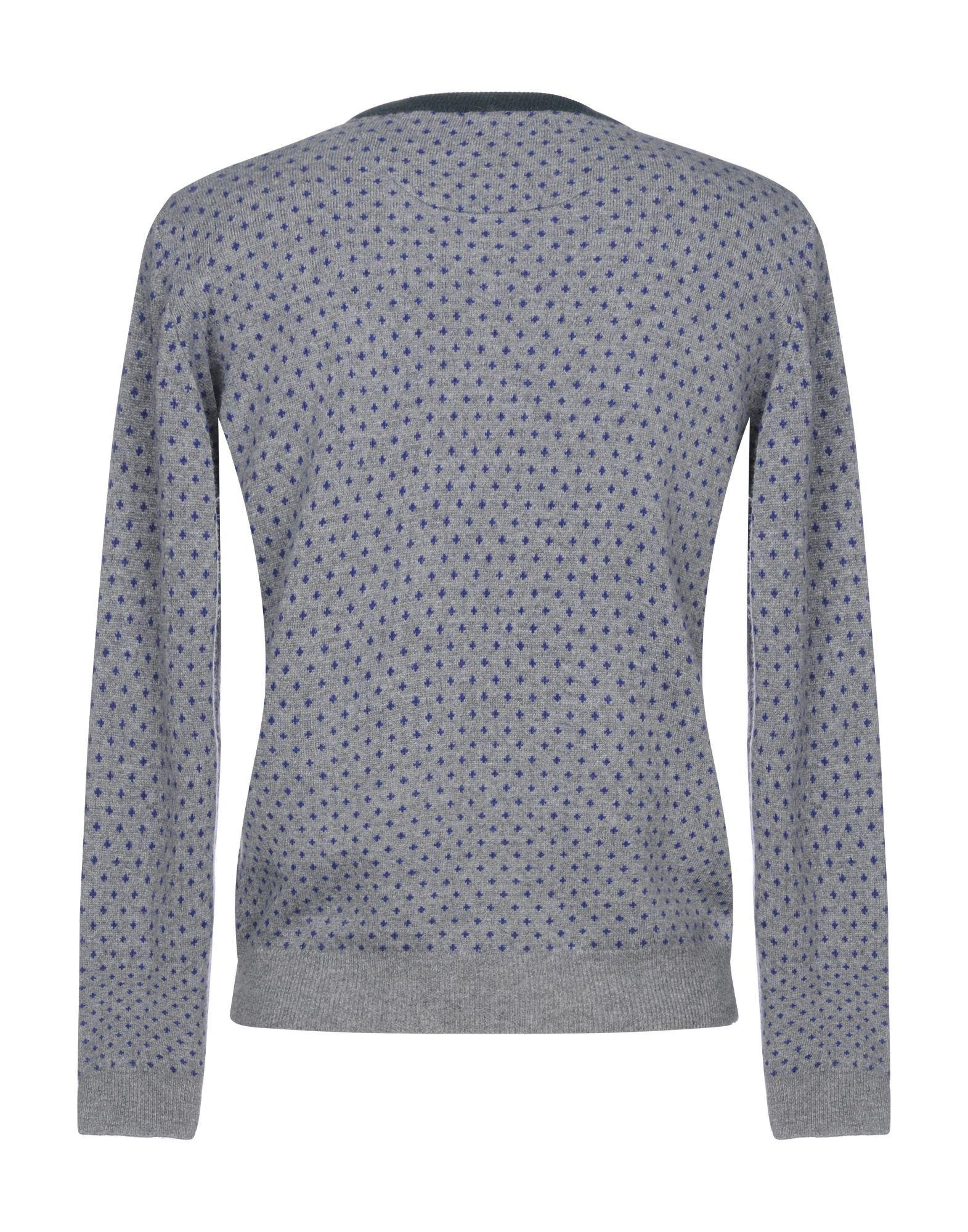 Herman & Sons Grey Wool Jumper