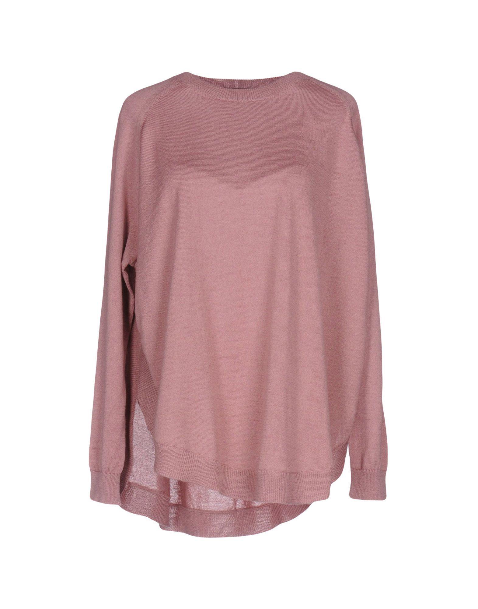 KNITWEAR Roberto Collina Pastel pink Woman Merinos Wool