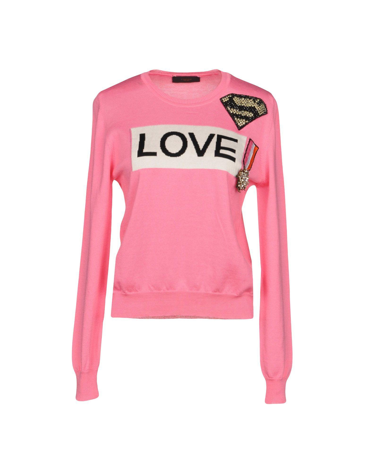 KNITWEAR L'Edition Pink Woman Cotton