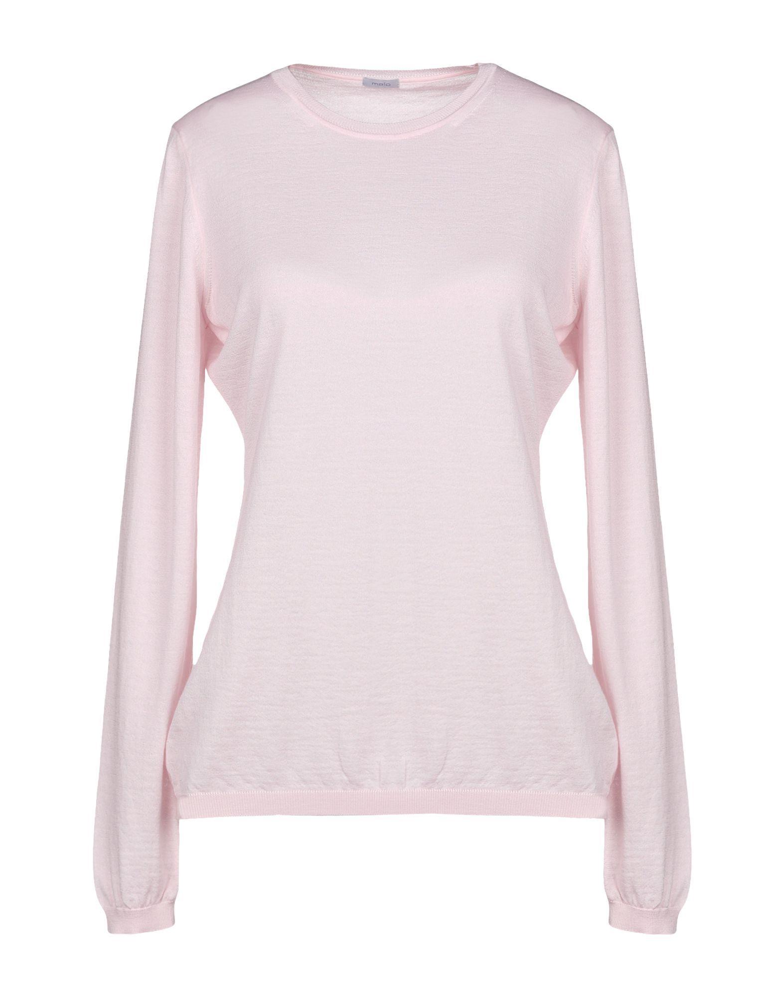 Knitwear Malo Pink Women's Cashmere
