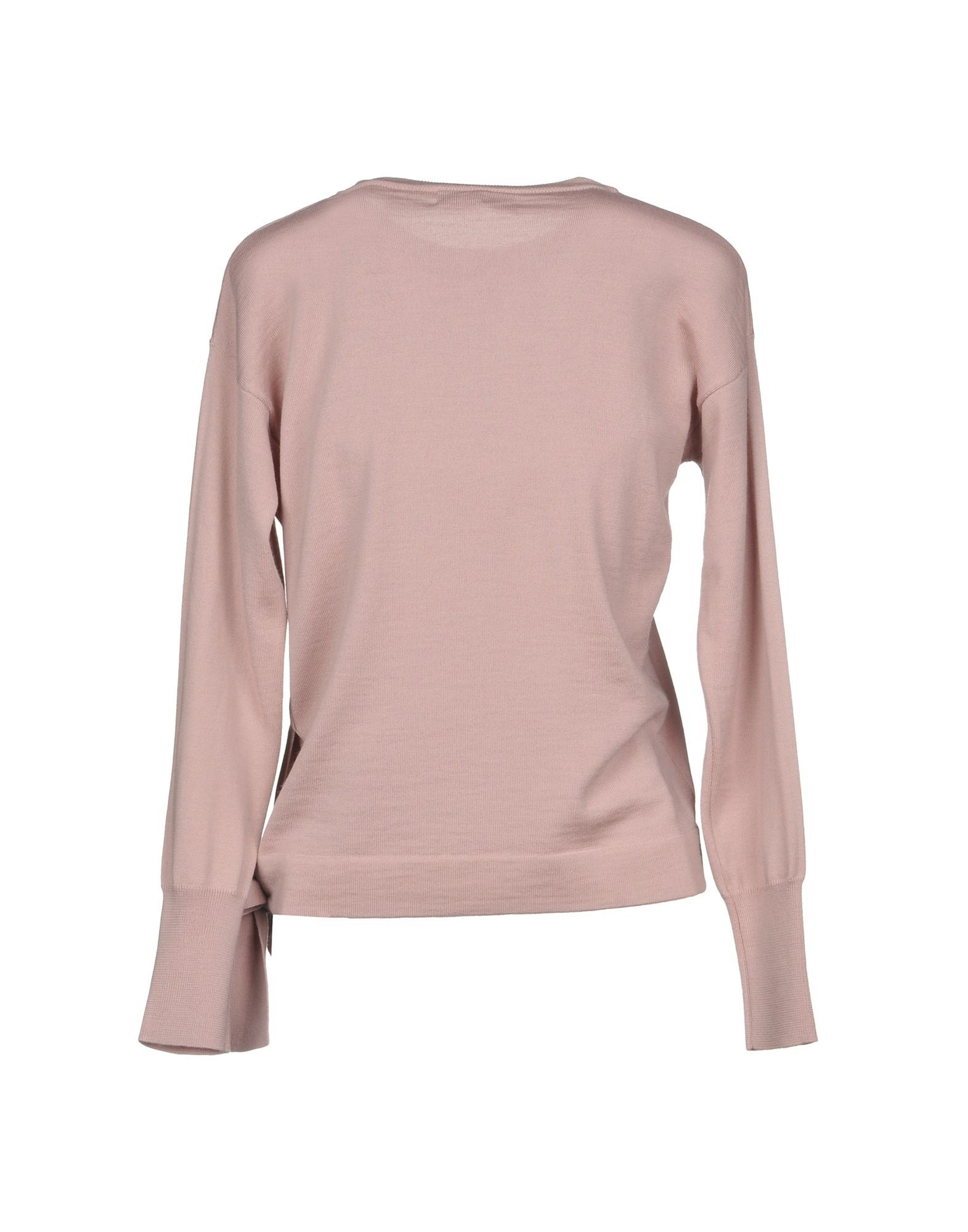 Alpha Studio Pastel Pink Merino Wool Jumper