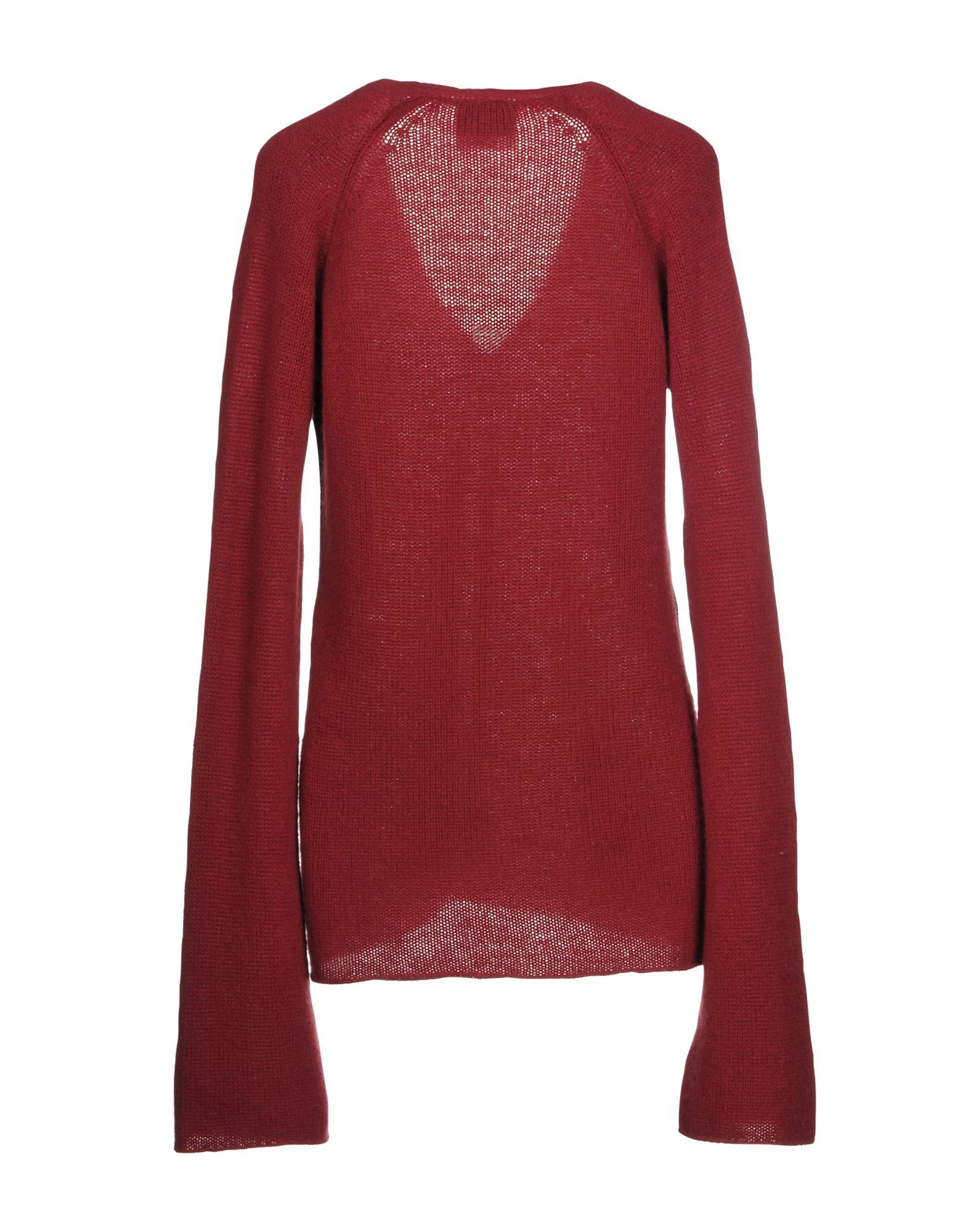 Knitwear Forte_Forte Maroon Women's Cashmere