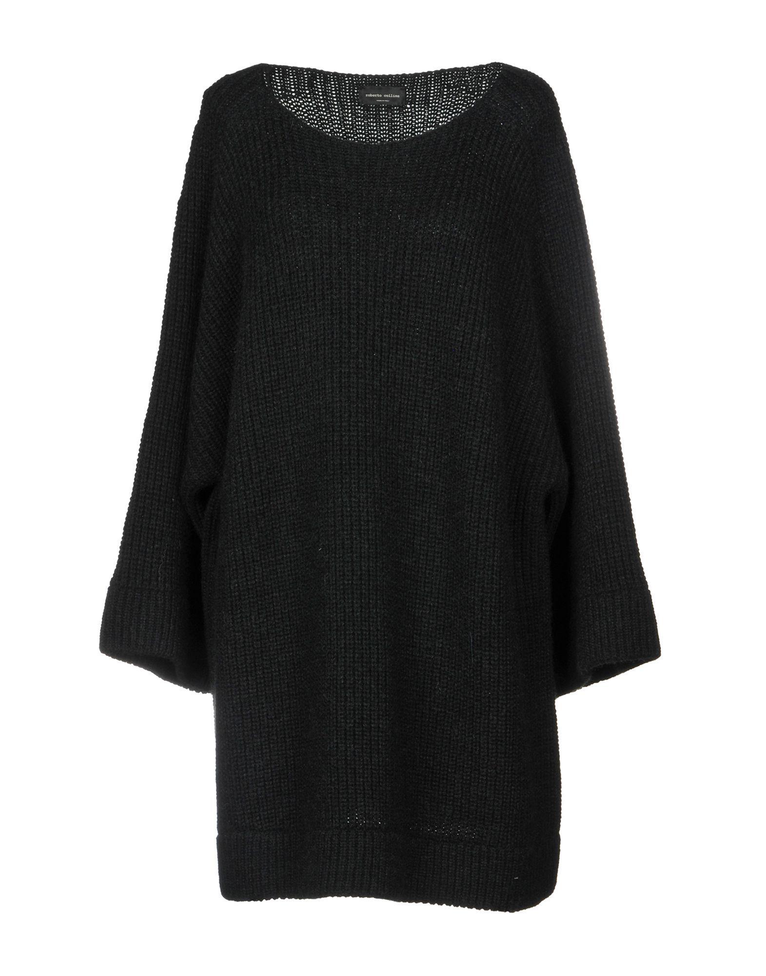 KNITWEAR Roberto Collina Black Woman Wool