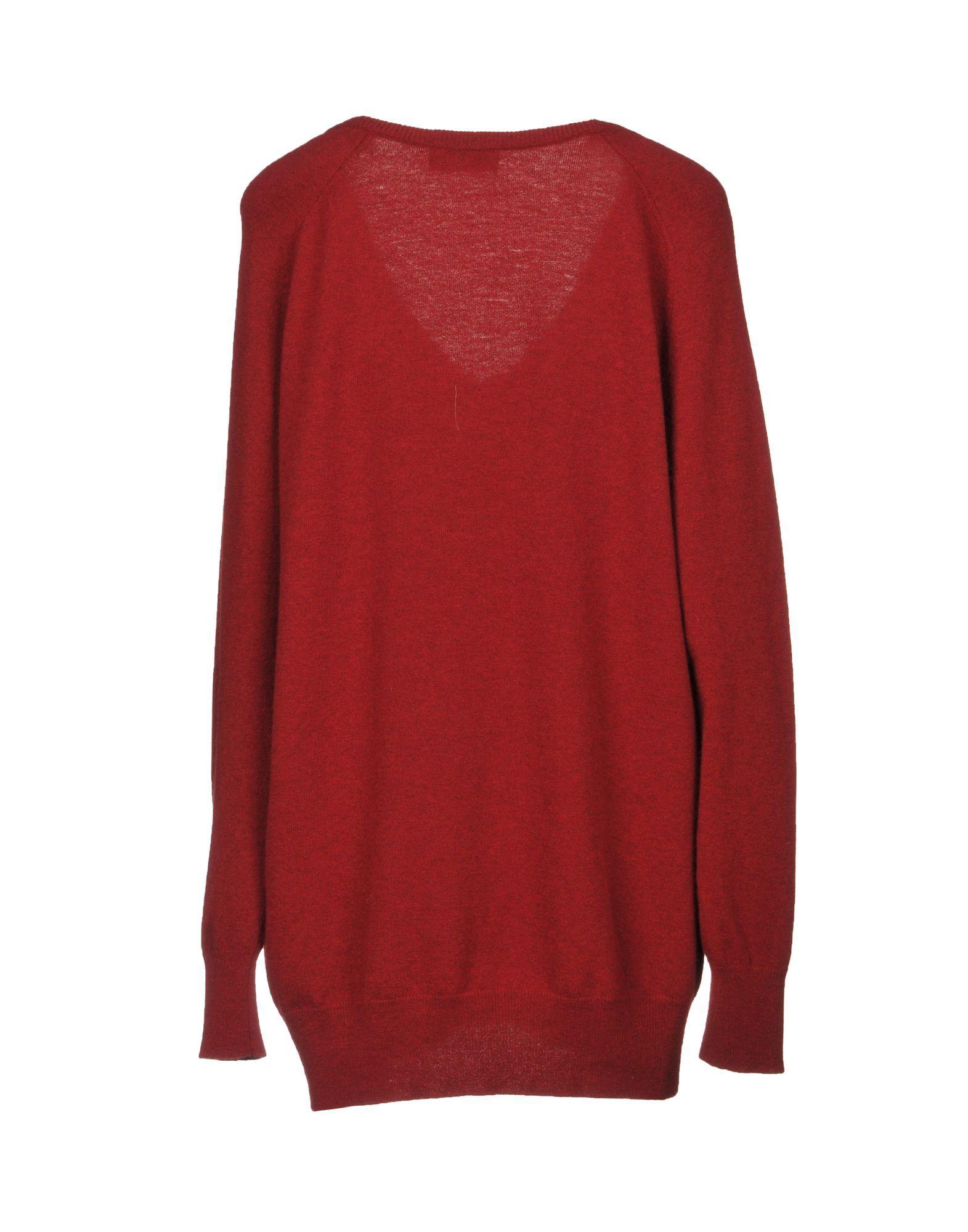 KNITWEAR Sonia De Nisco Maroon Woman Wool