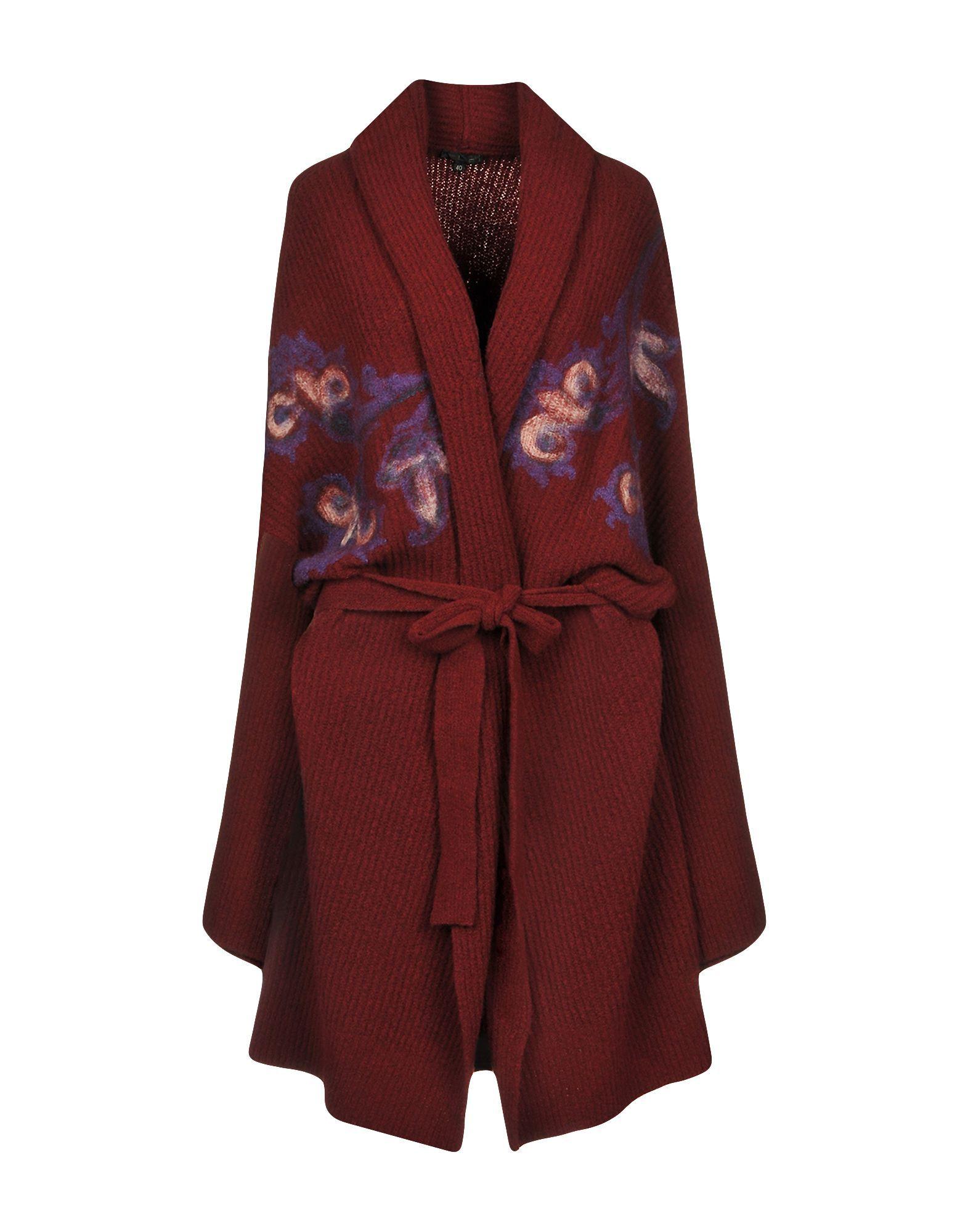 Etro Deep Purple Wool Knit Cardigan