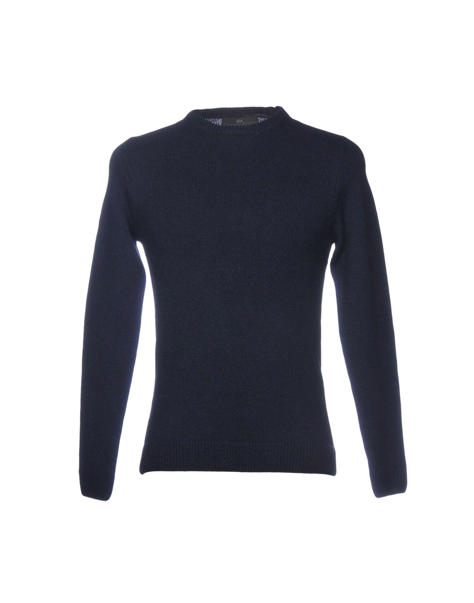 KNITWEAR Daniele Alessandrini Dark blue Man Wool