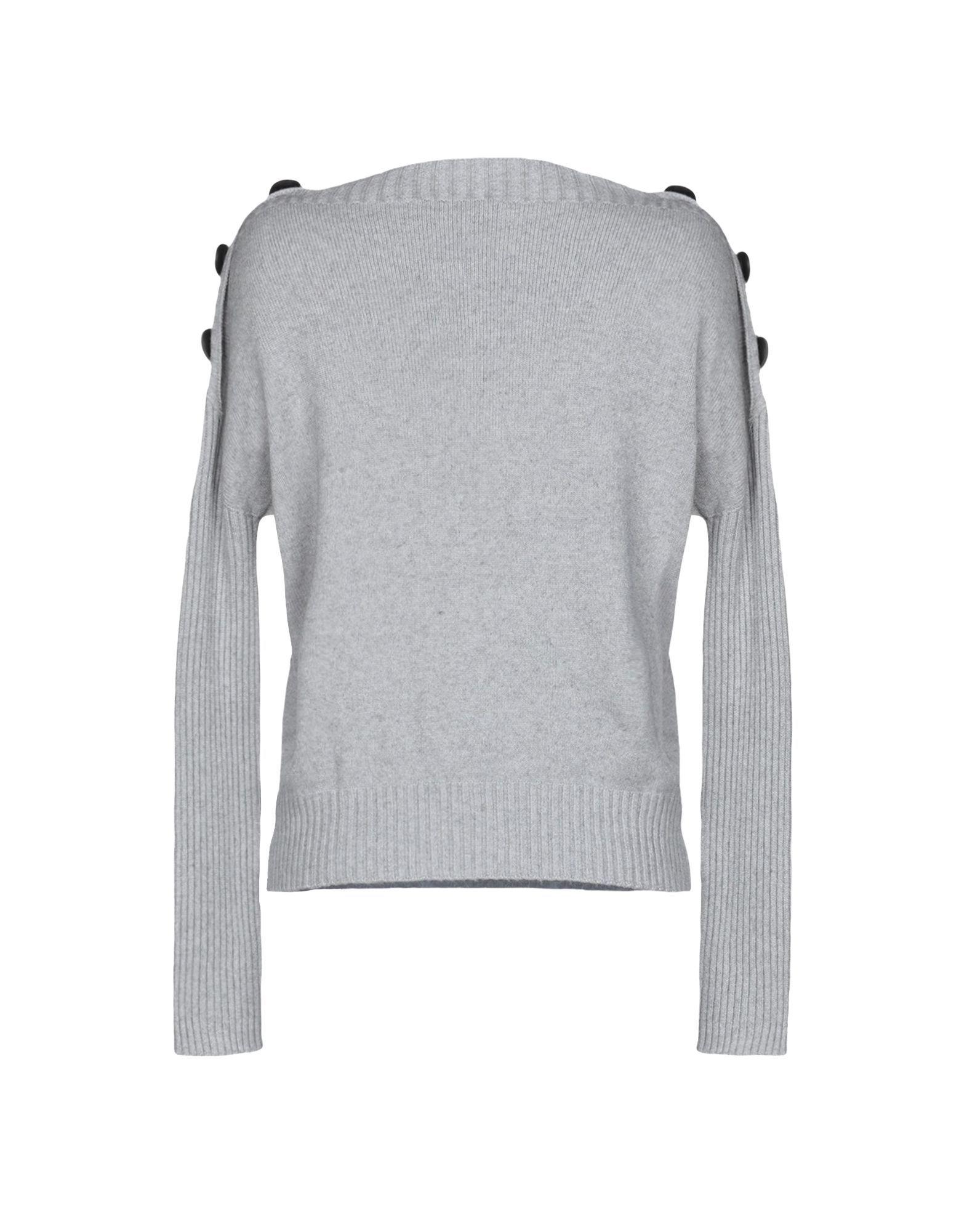 Kaos Jeans Light Grey Lightweight Knit Jumper