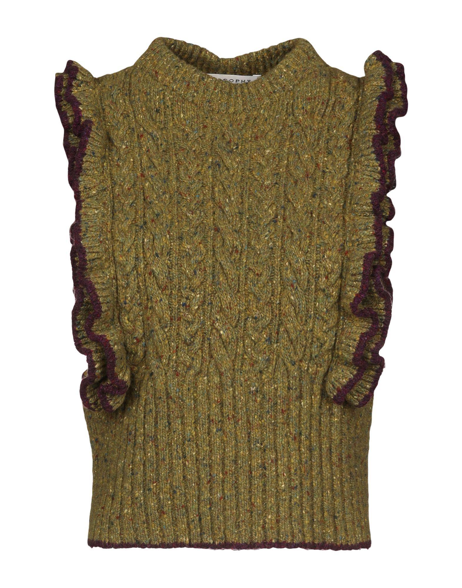 Topwear Alberta Ferretti Military Green Women's Wool