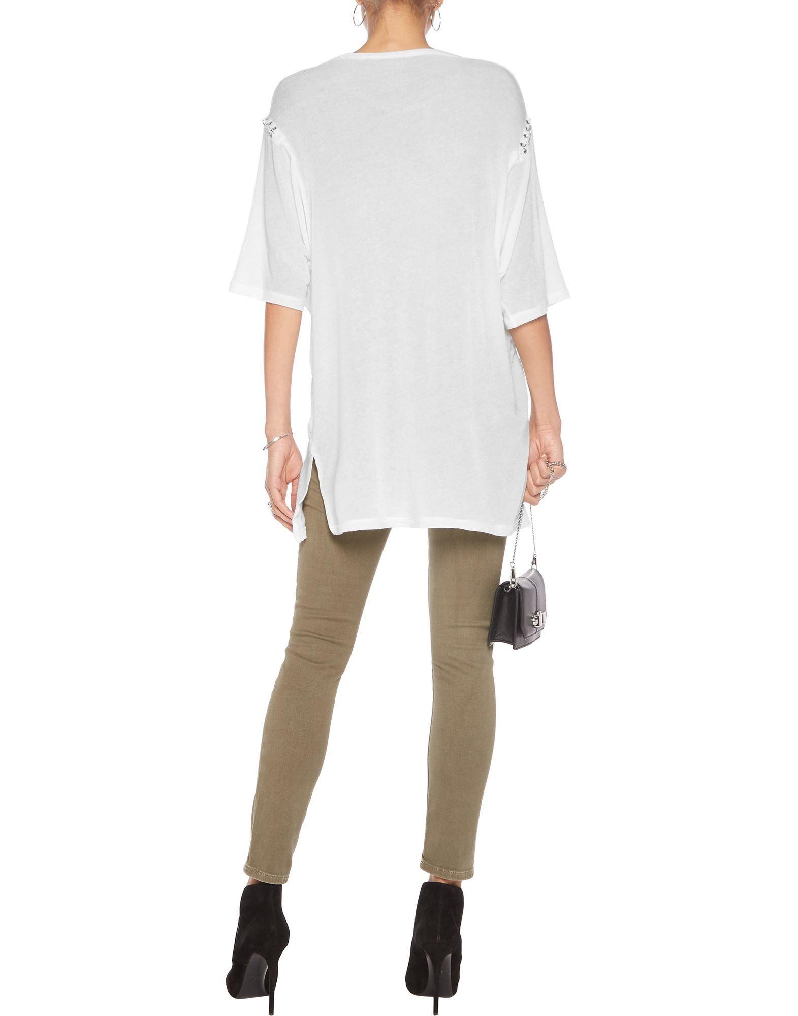 KNITWEAR Woman Iro.Jeans White Lyocell