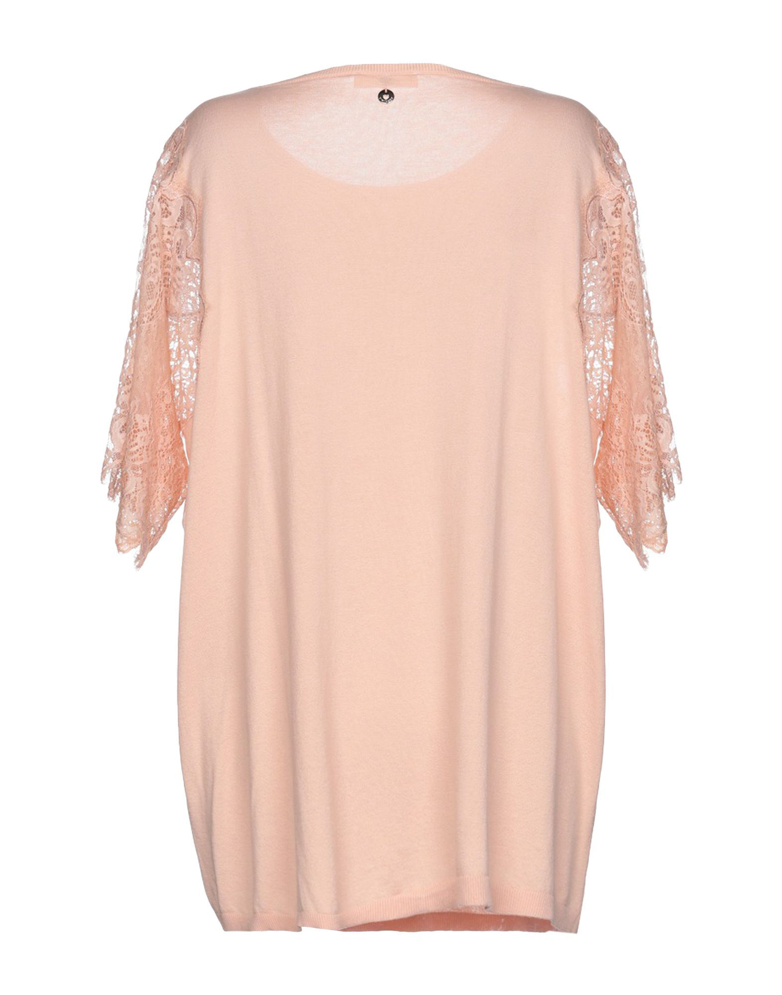 Twinset Pale Pink Cotton Lace Knit