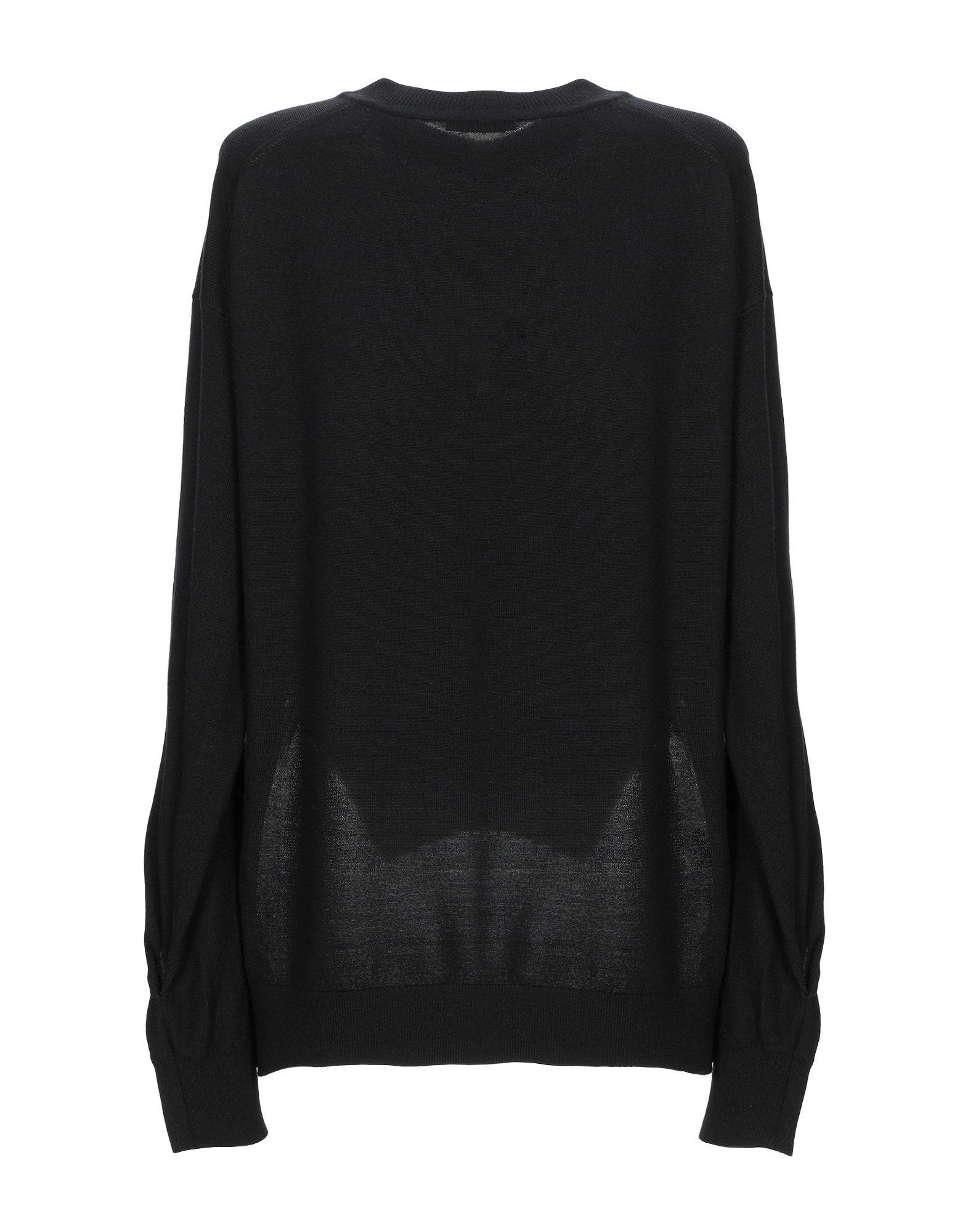 Alexanderwang.T Black Merino Wool Jumper