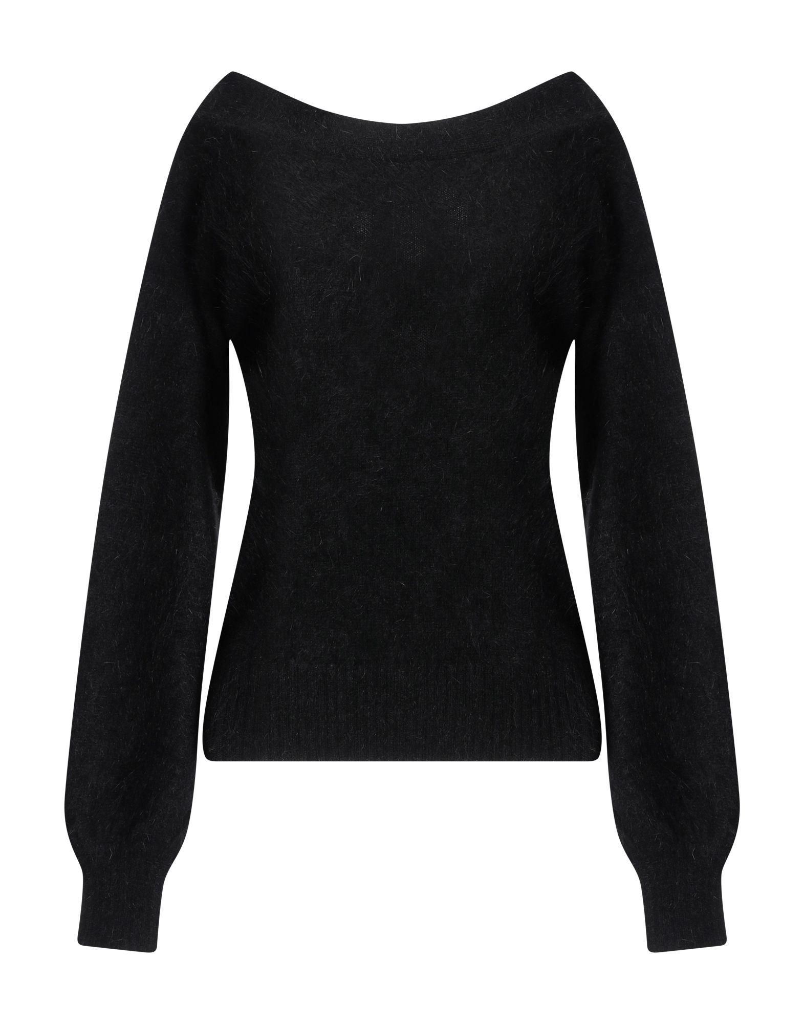 Knitwear Semicouture Black Women's Angora