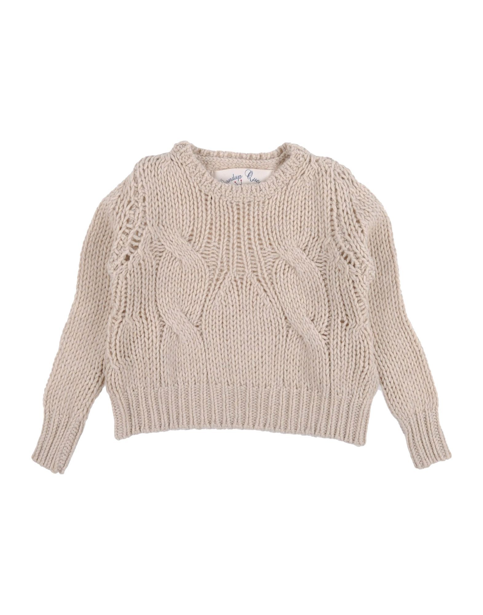 KNITWEAR Dondup Beige Girl Merinos Wool