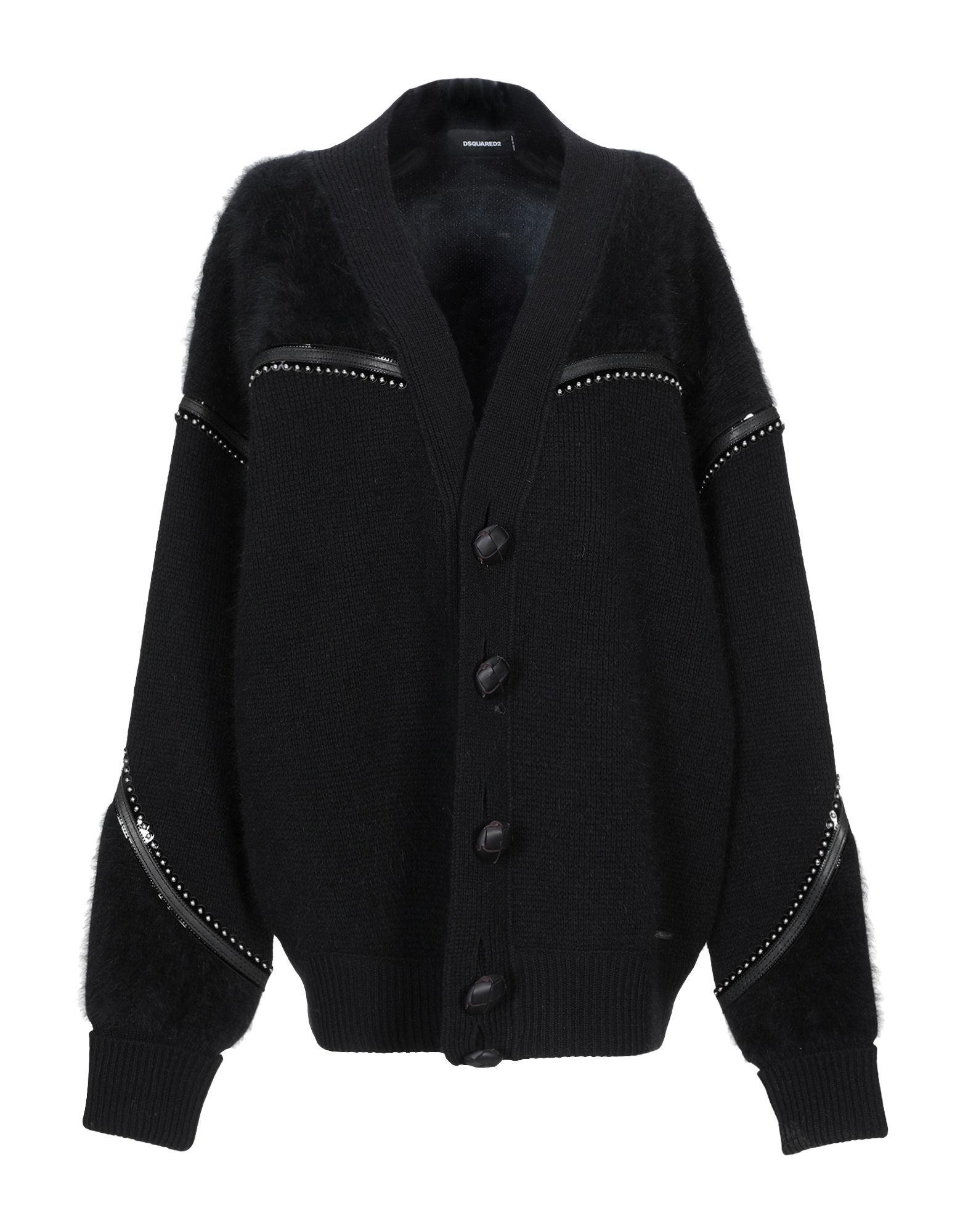 Dsquared2 Black Wool Knit