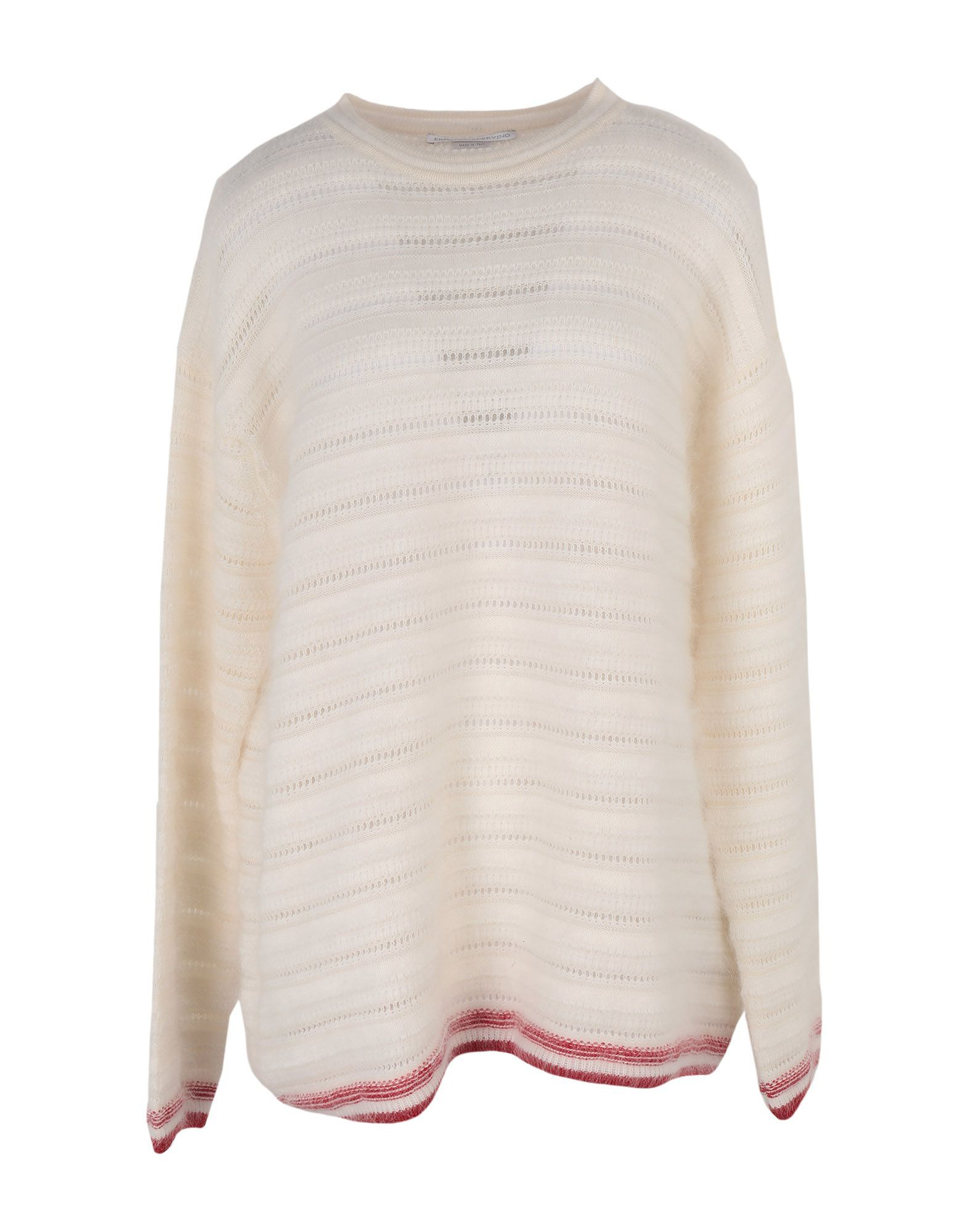 KNITWEAR Ermanno Scervino Ivory Woman Virgin Wool