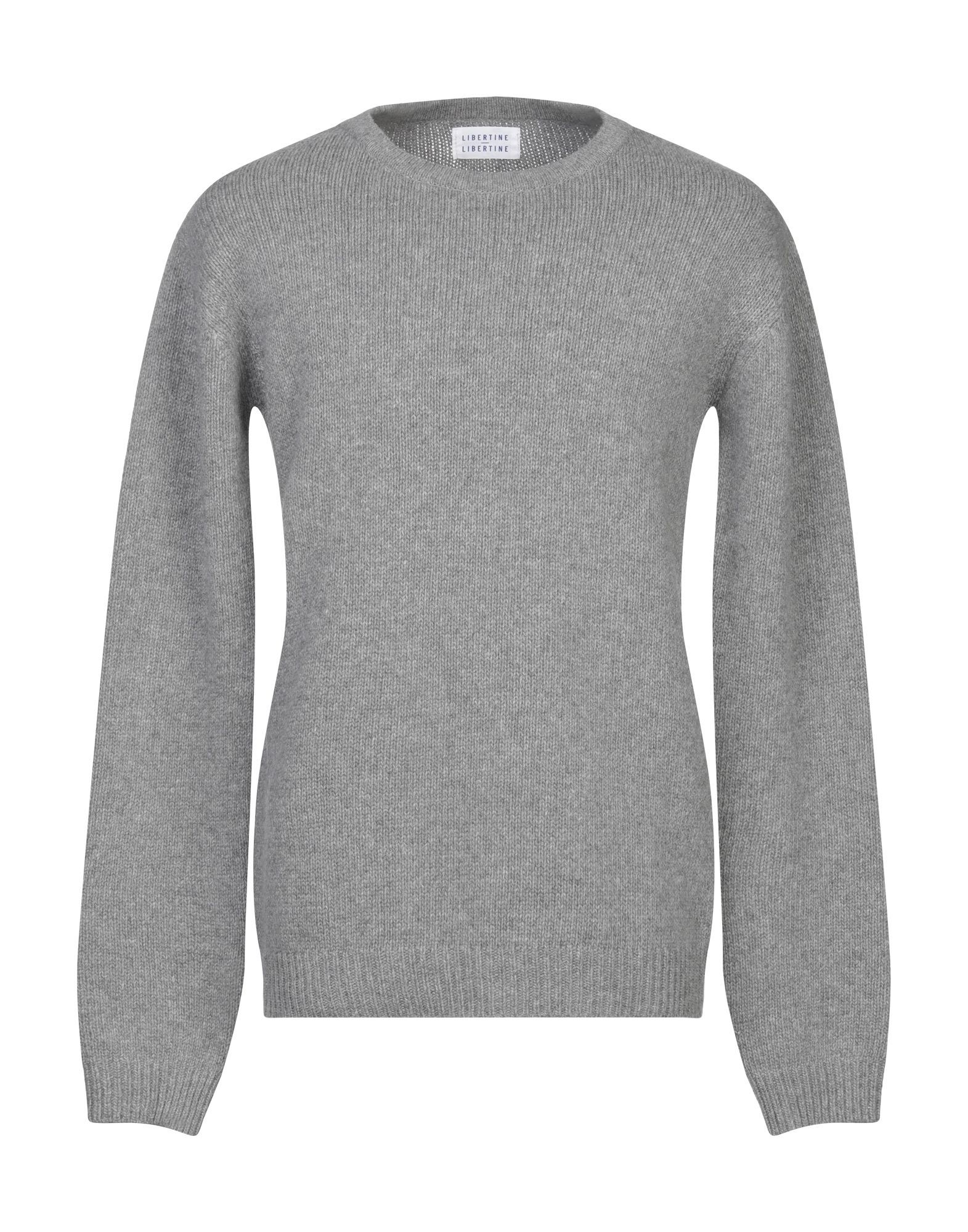 KNITWEAR Libertine-Libertine Grey Man Wool