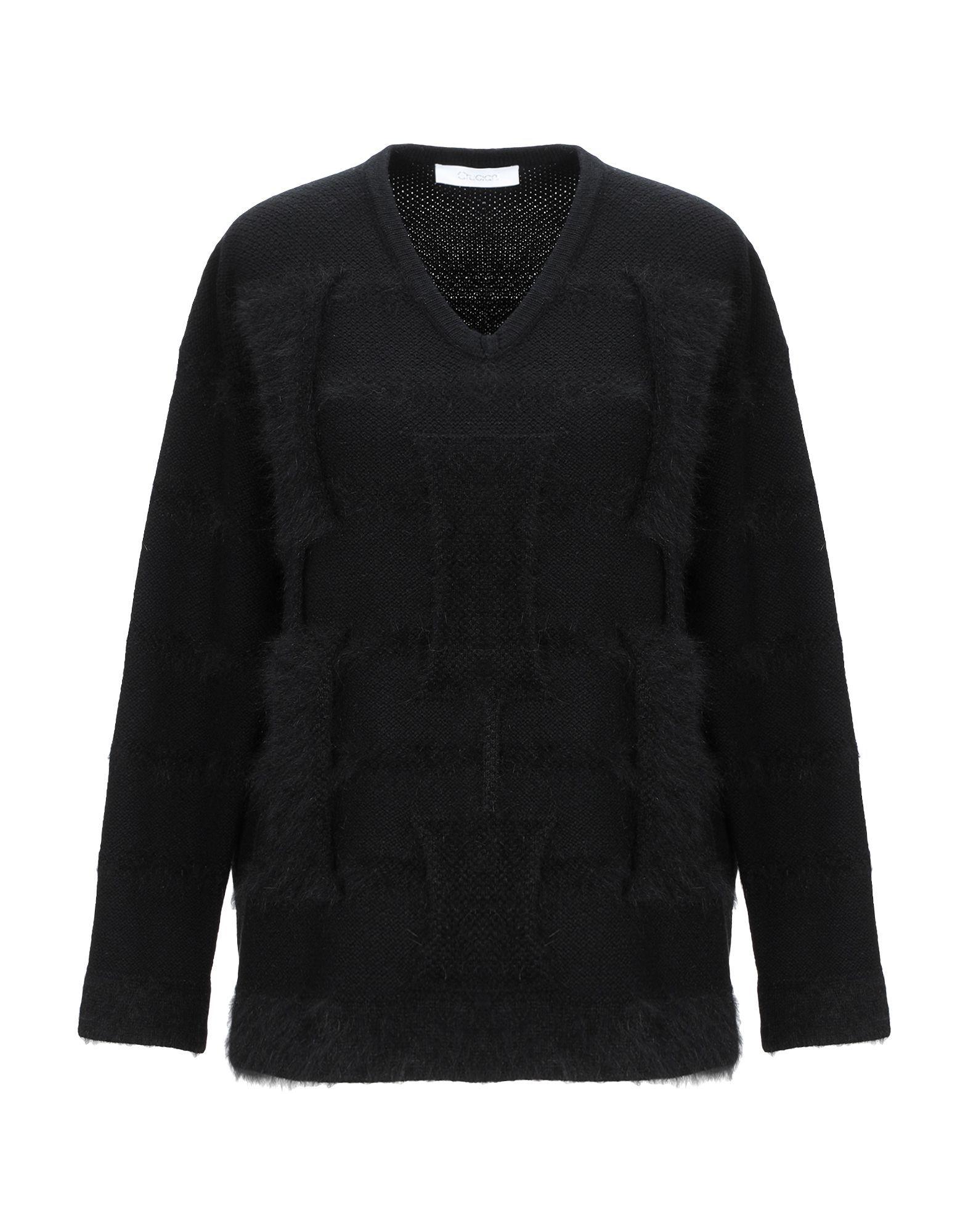 KNITWEAR Cruciani Black Woman Wool