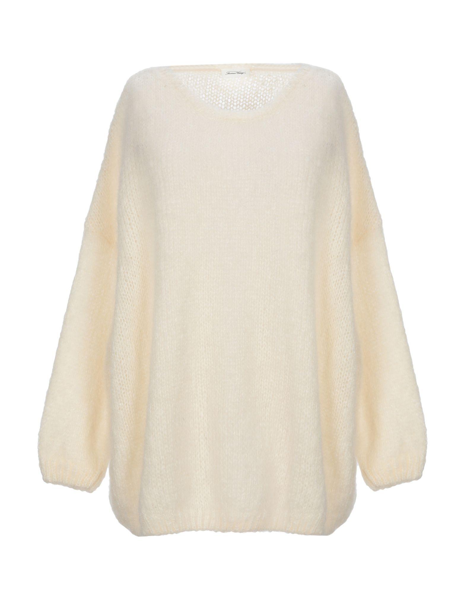 KNITWEAR American Vintage Ivory Woman Mohair wool