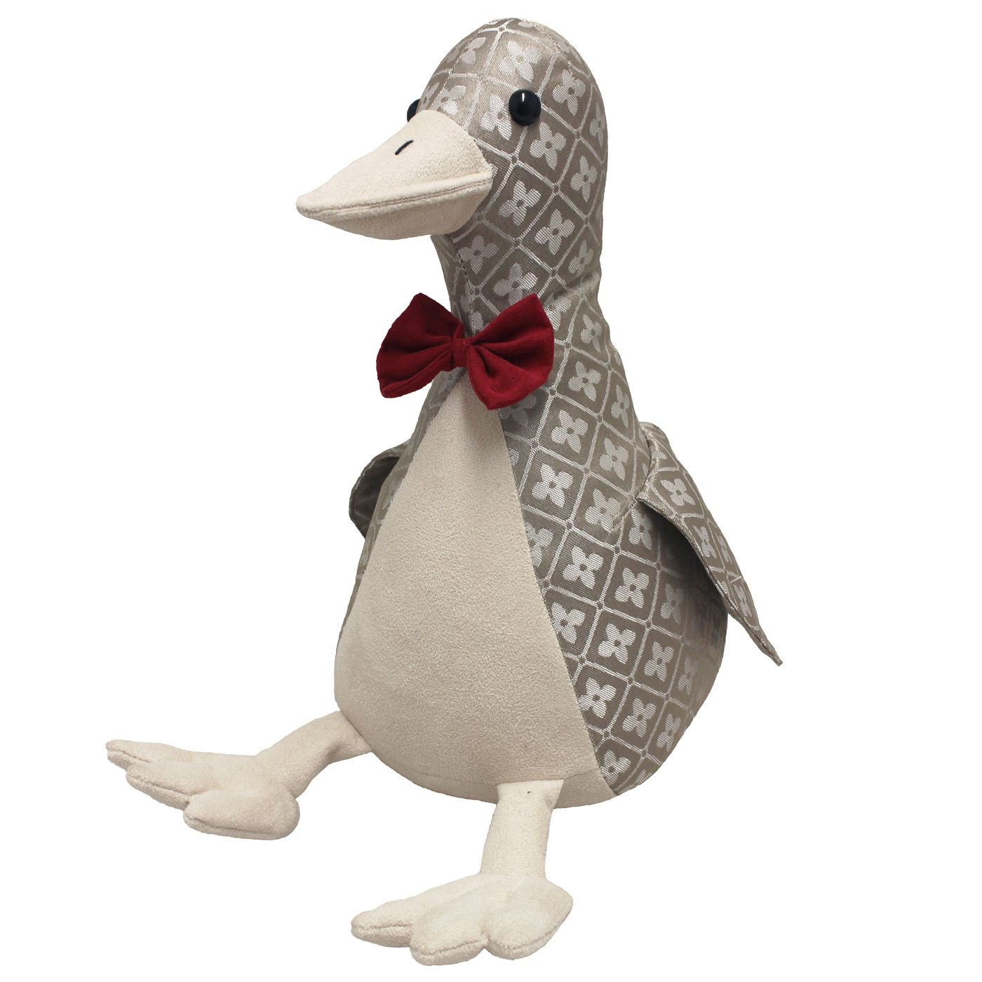Jacquard Duck Doorstop, Multi
