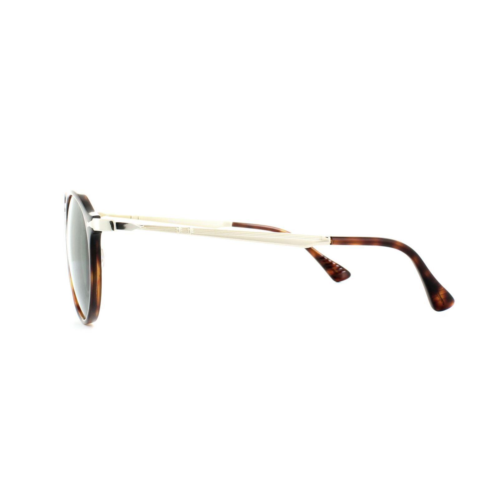 Persol Sunglasses 3166 24/31 Havana Grey Green