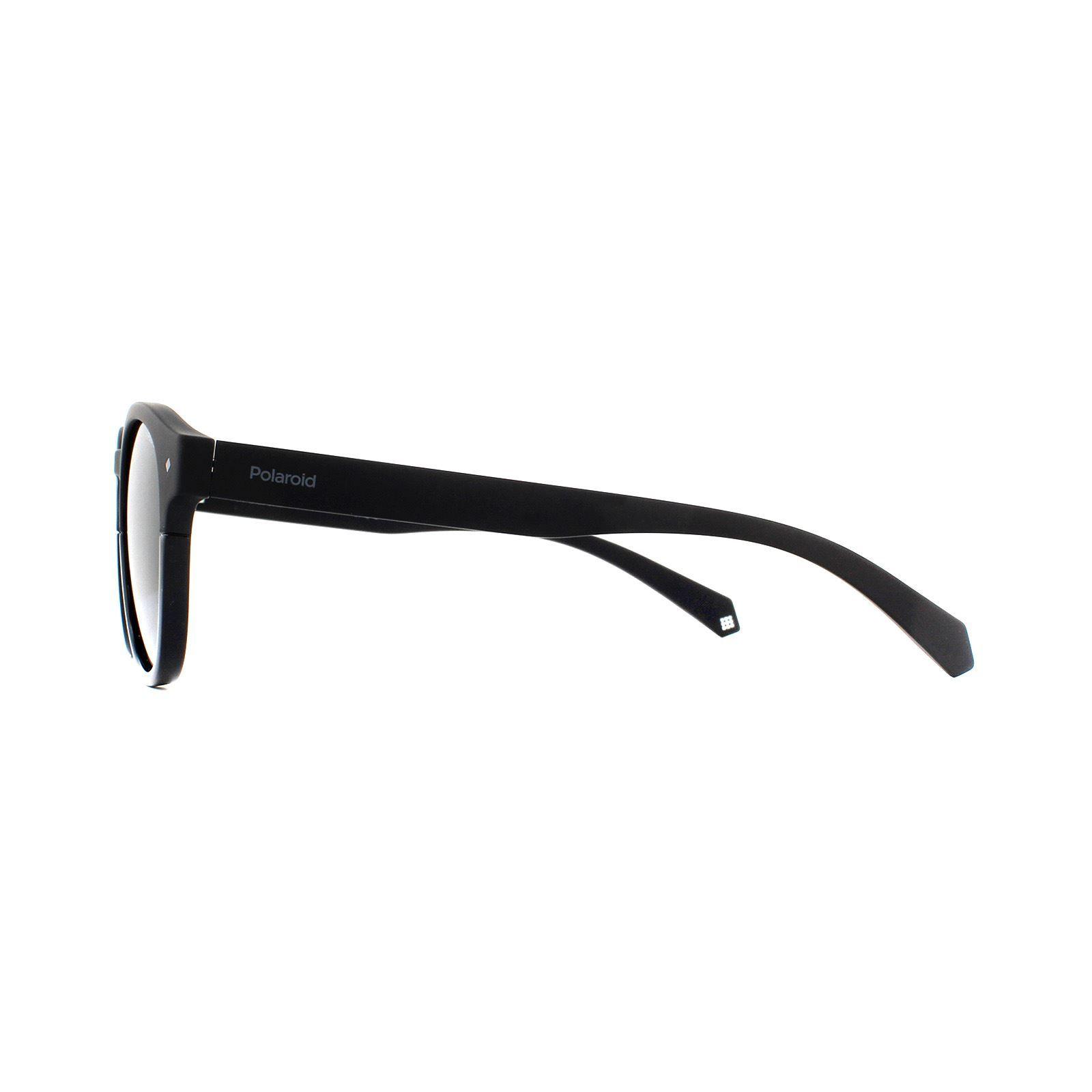 Polaroid Sunglasses 6042/S 807 M9 Black Grey Polarized