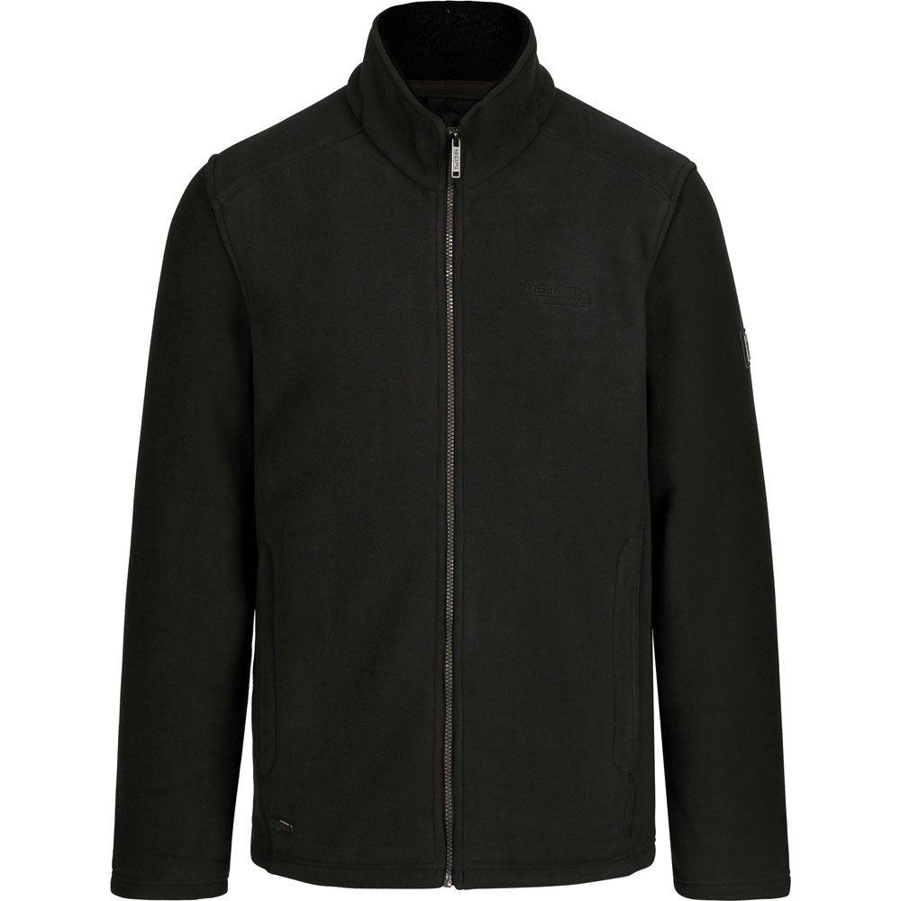 Regatta Mens Garrian Polyester Sherpa Backed Full Zip Fleece Jacket