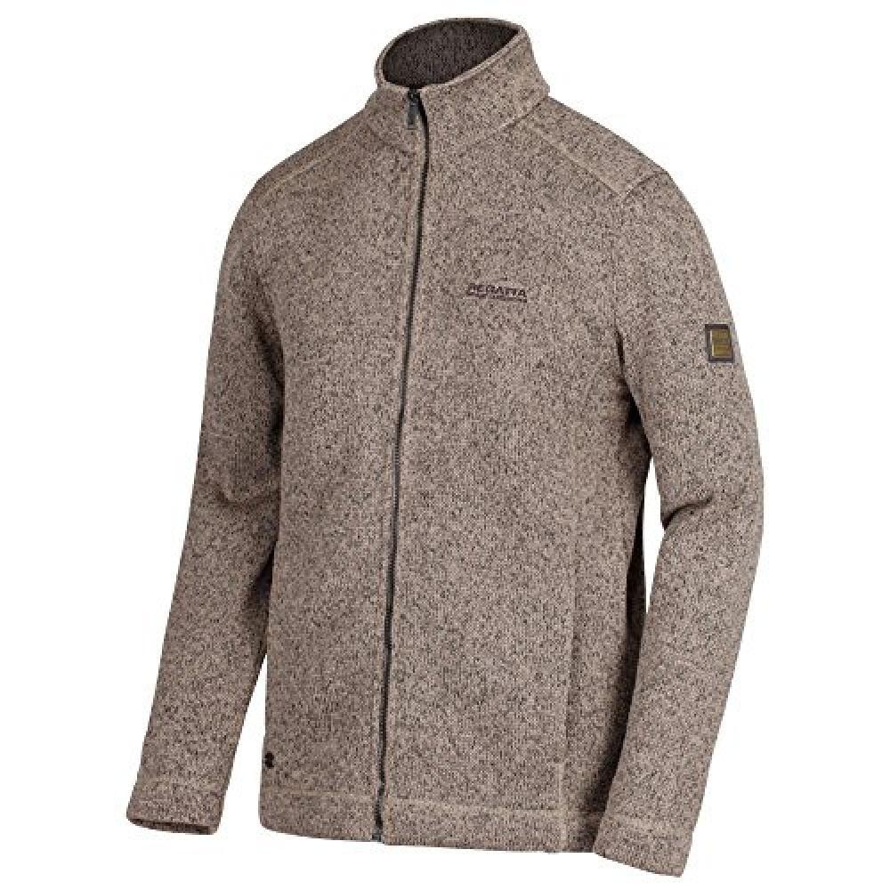 Regatta Mens Branton Full Zip Jacket (Clay)