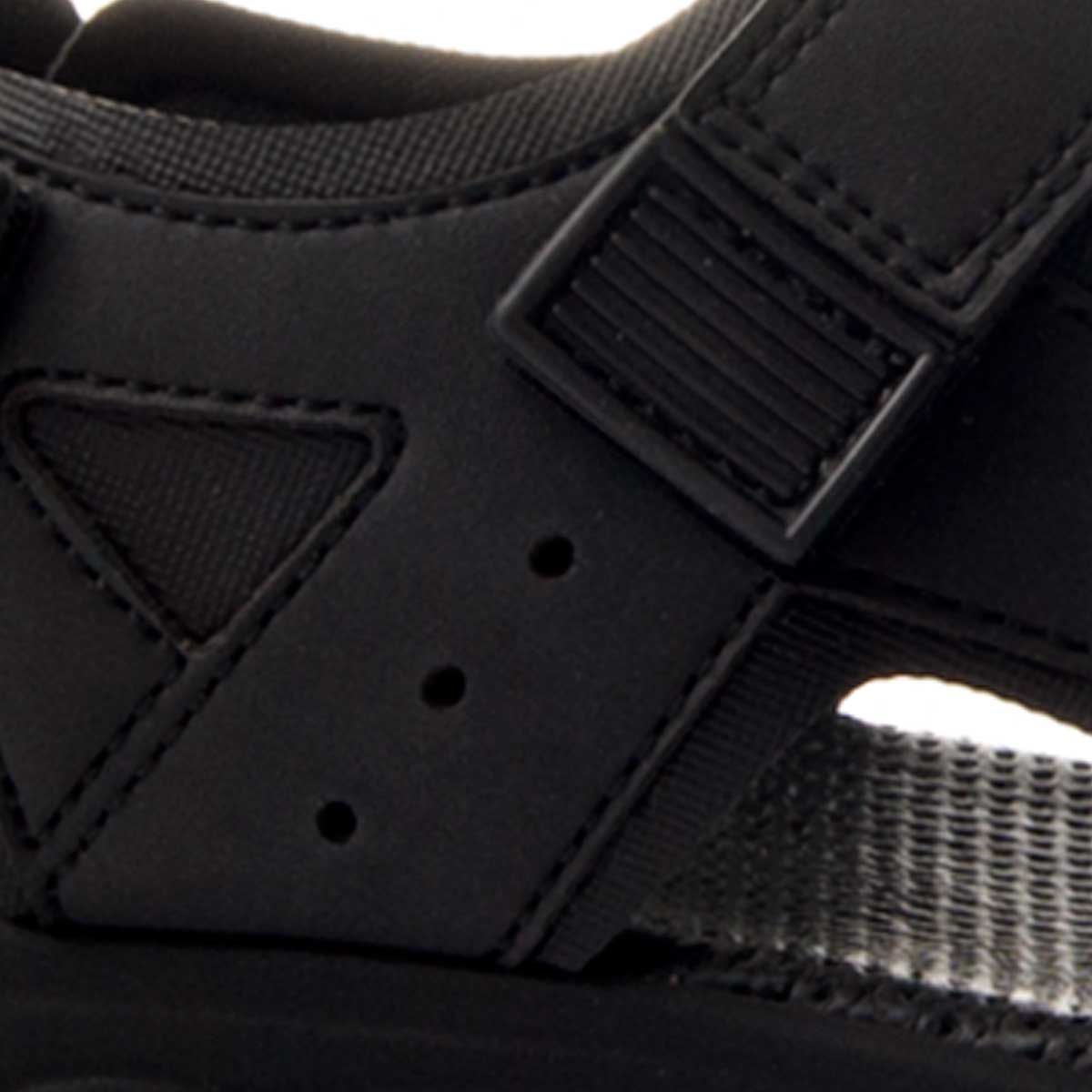 Montevita Strap Sandal in Black