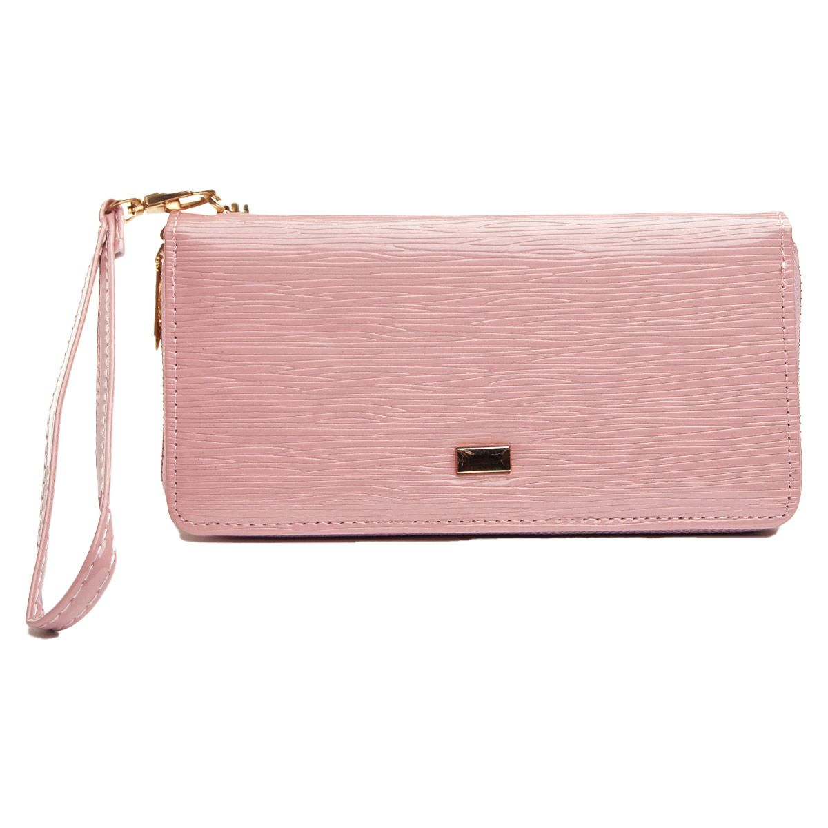 Montevita Leather Purse in Pink