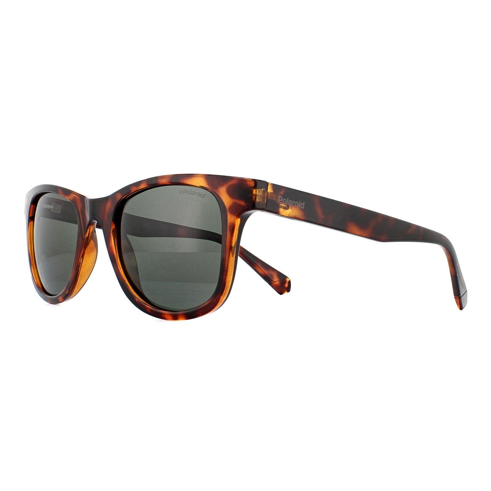 Polaroid Sunglasses PLD 1016/S/NEW 086 UC Dark Havana Green Polarized
