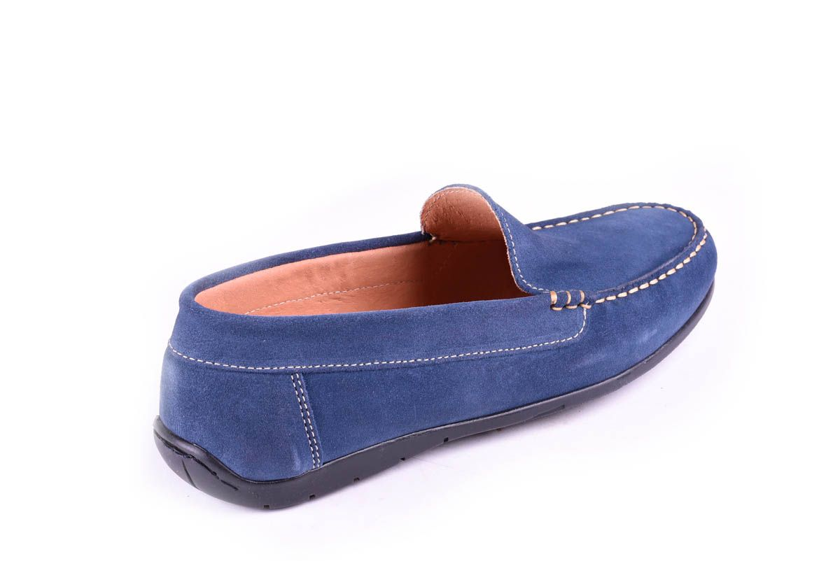 Purapiel Comfortable Moccasin in Blue