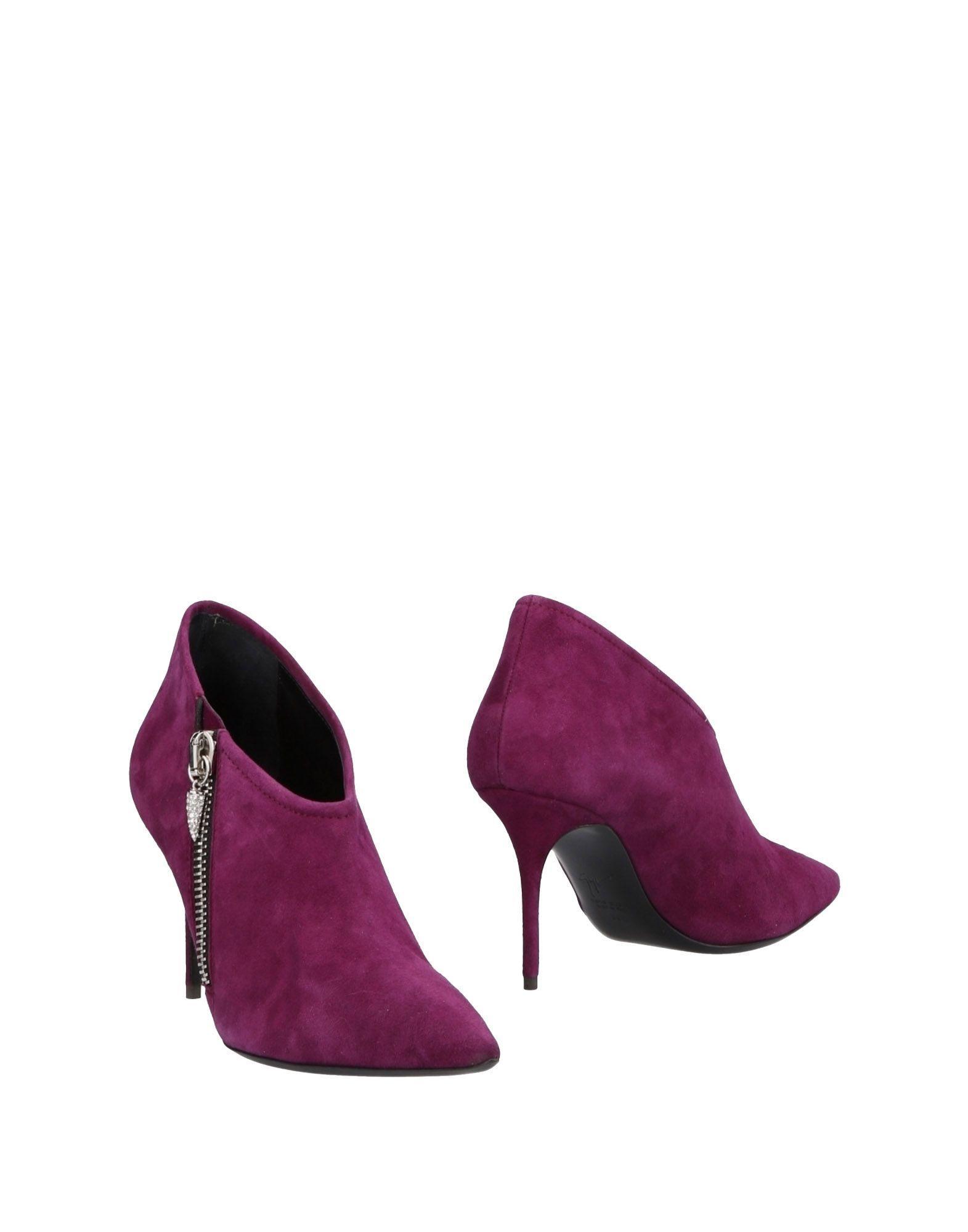 Giuseppe Zanotti Women's Shoe Boots Leather