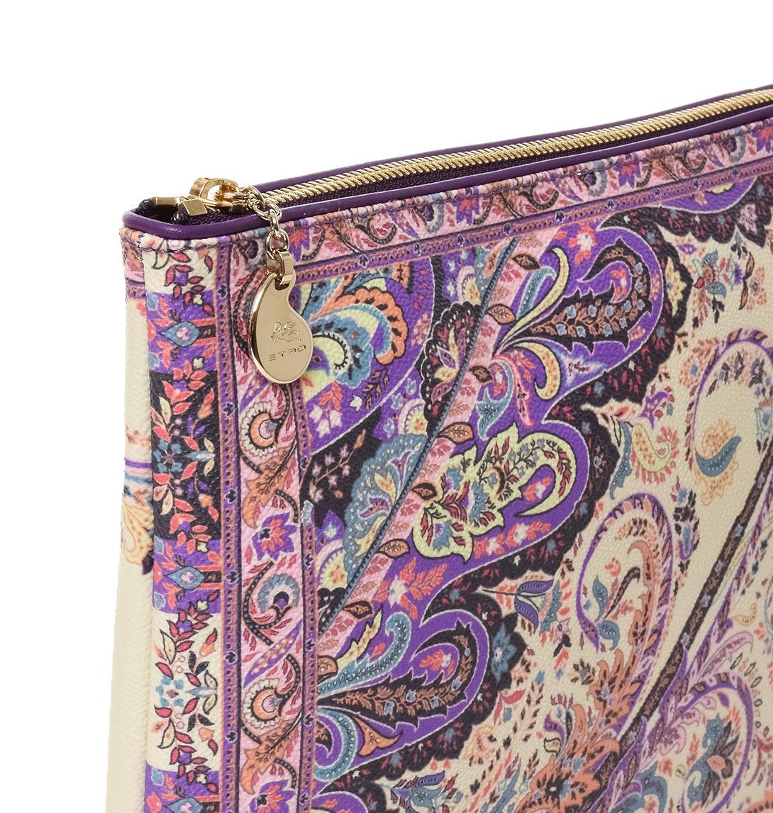 ETRO WOMEN'S 1E3802790400 MULTICOLOR PVC COVER