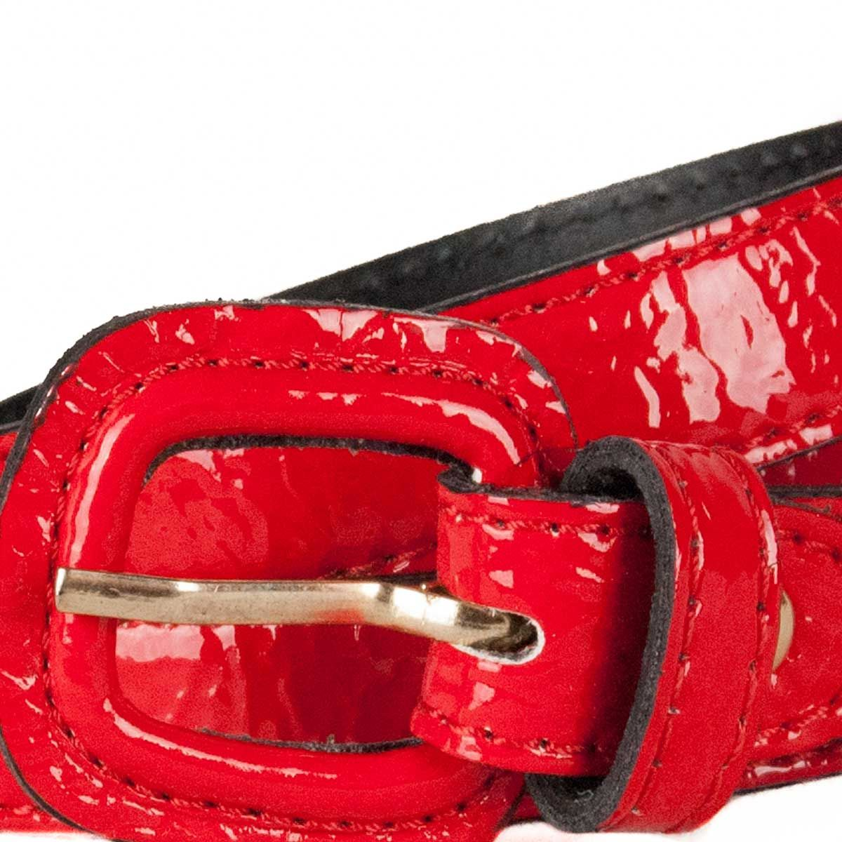 Montevita Casual Quality Belt in Red