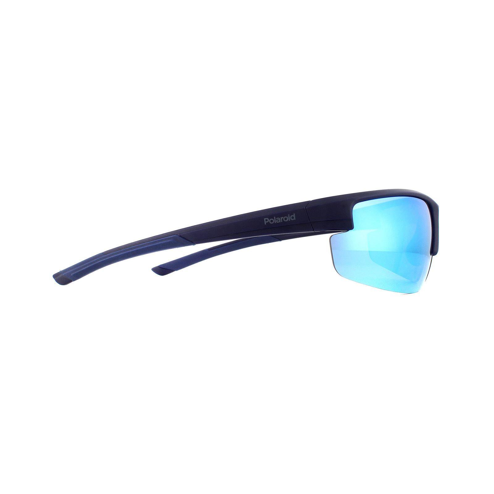 Polaroid Sport Sunglasses 7027/S PJP 5X Blue Blue Mirror Polarized