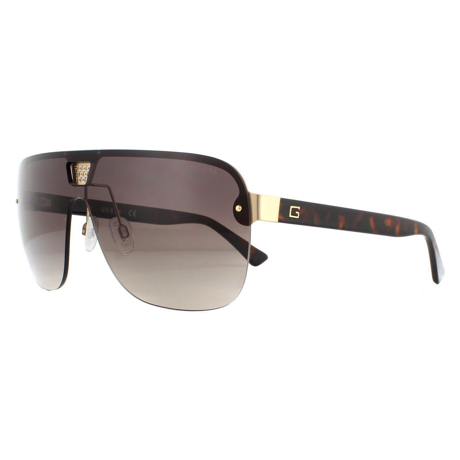 Guess Sunglasses GU6962 52F Dark Havana Brown
